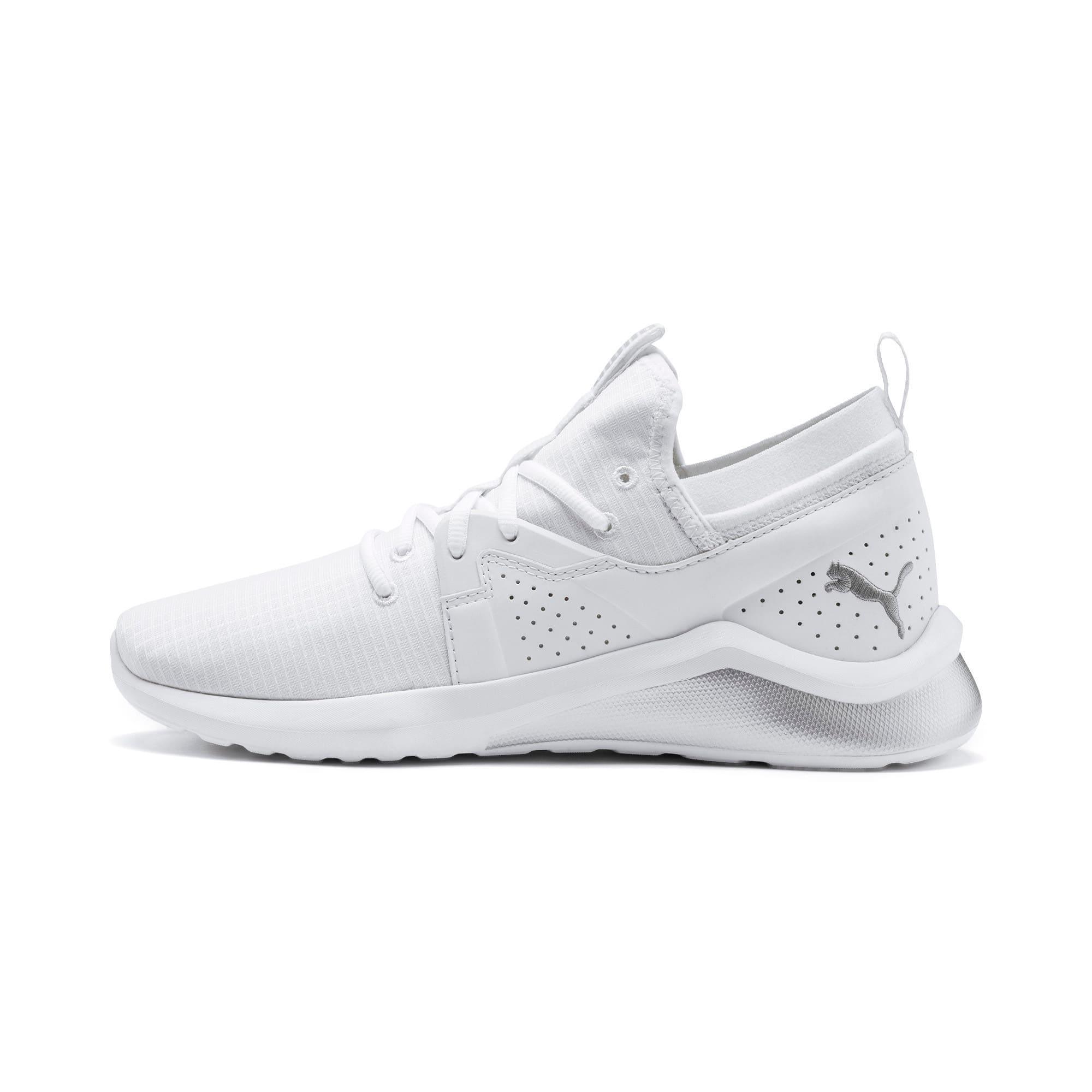 Thumbnail 1 of Emergence Lights Men's Running Shoes, Puma White-Puma Silver, medium-IND