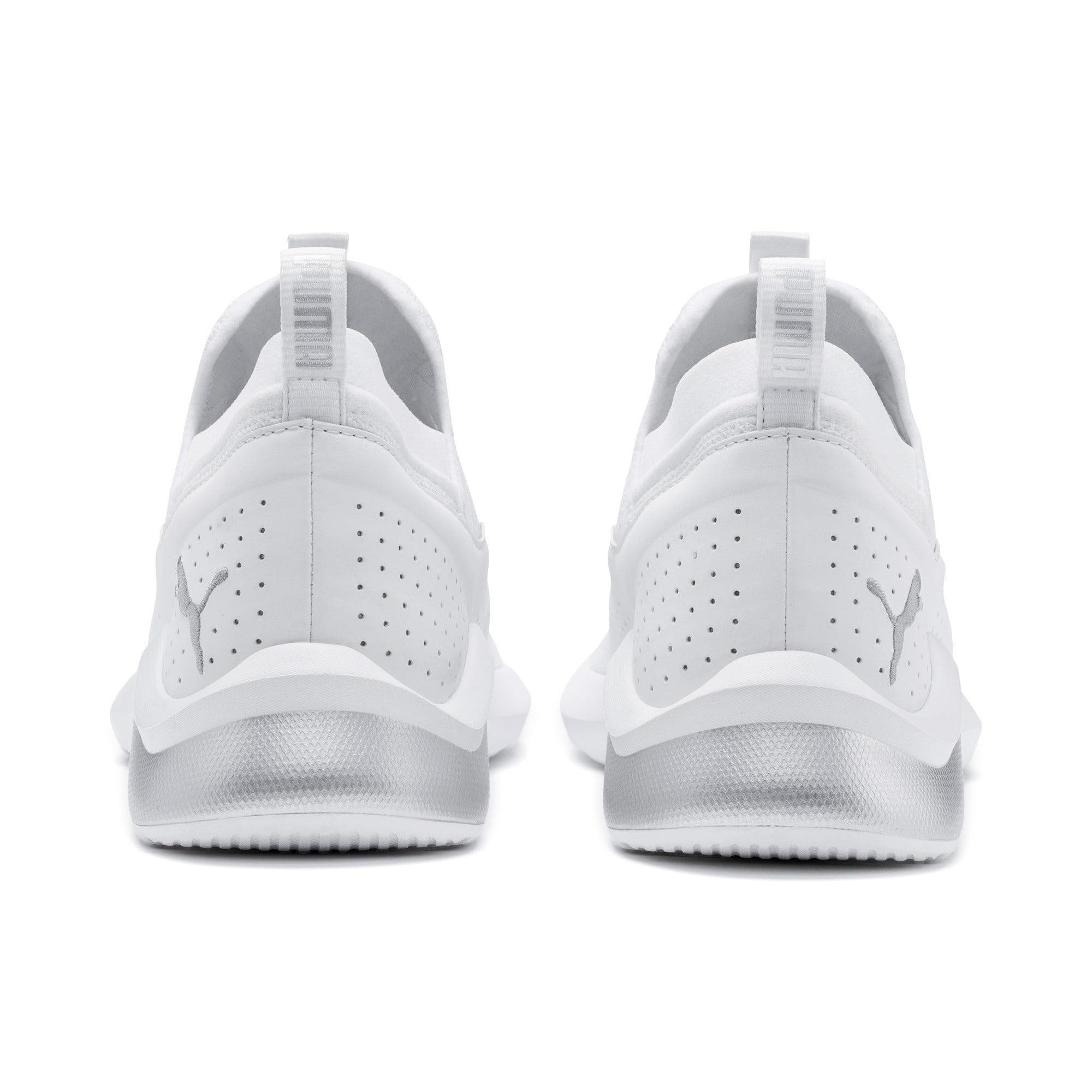 Thumbnail 6 of Emergence Lights Men's Running Shoes, Puma White-Puma Silver, medium-IND