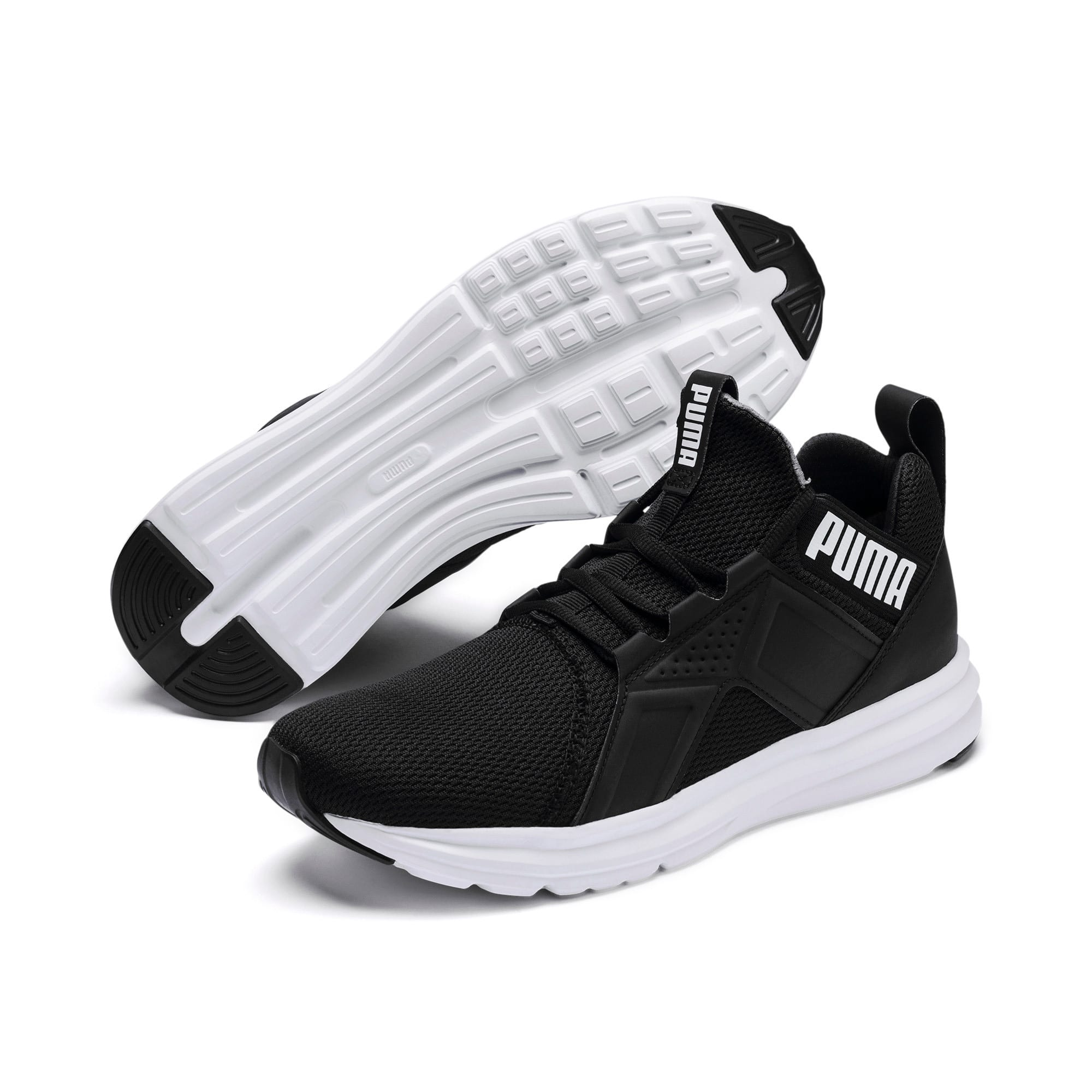 Thumbnail 3 of Basket Enzo Sport pour homme, Puma Black-Puma White, medium