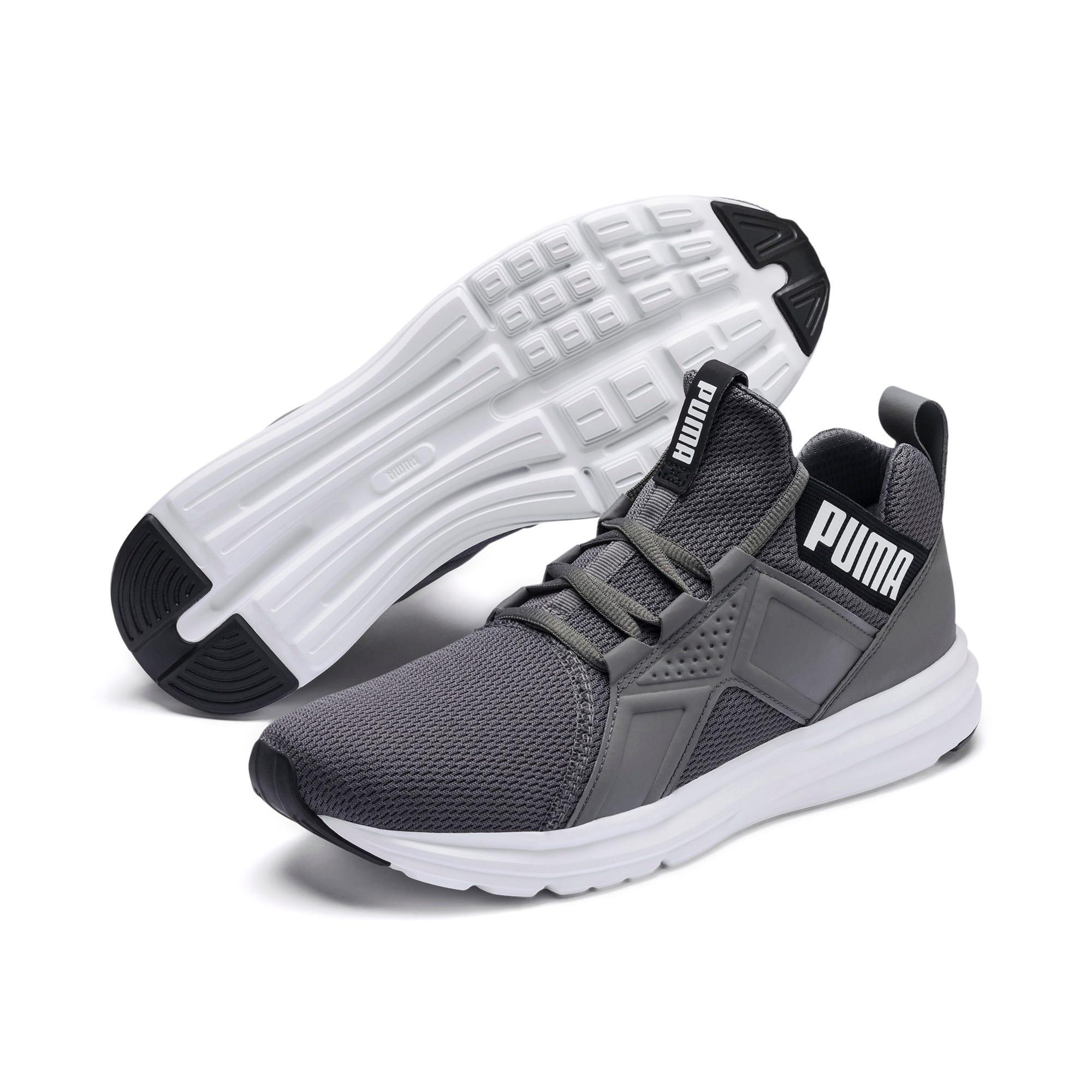 Miniatura 3 de Zapatos de entrenamiento Enzo Sport para hombre, CASTLEROCK-Puma Blk-Puma Wht, mediano