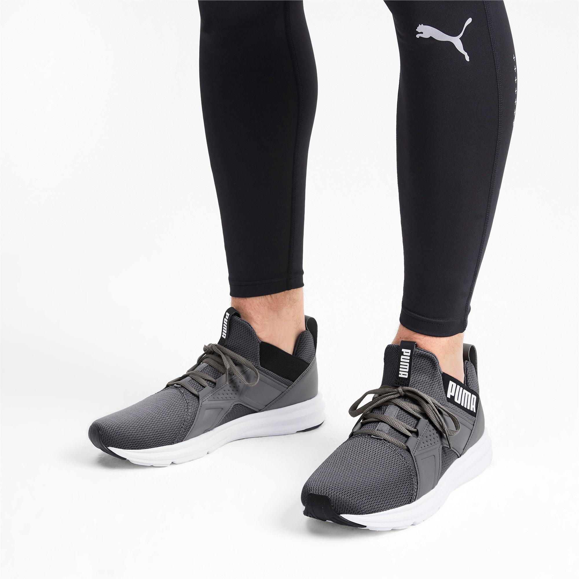 Miniatura 2 de Zapatos de entrenamiento Enzo Sport para hombre, CASTLEROCK-Puma Blk-Puma Wht, mediano