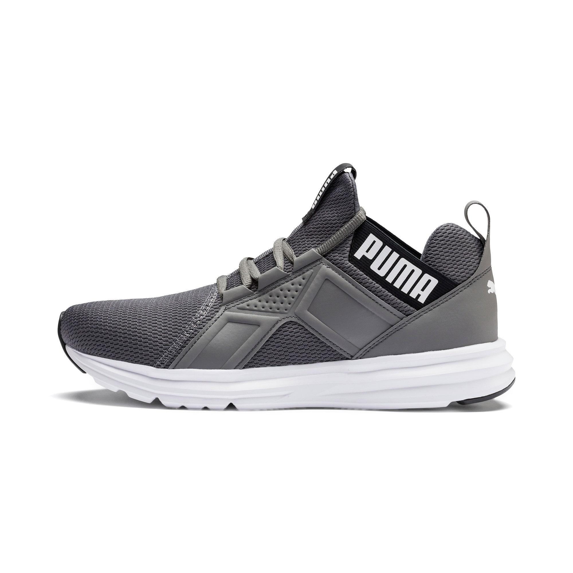 Miniatura 1 de Zapatos de entrenamiento Enzo Sport para hombre, CASTLEROCK-Puma Blk-Puma Wht, mediano