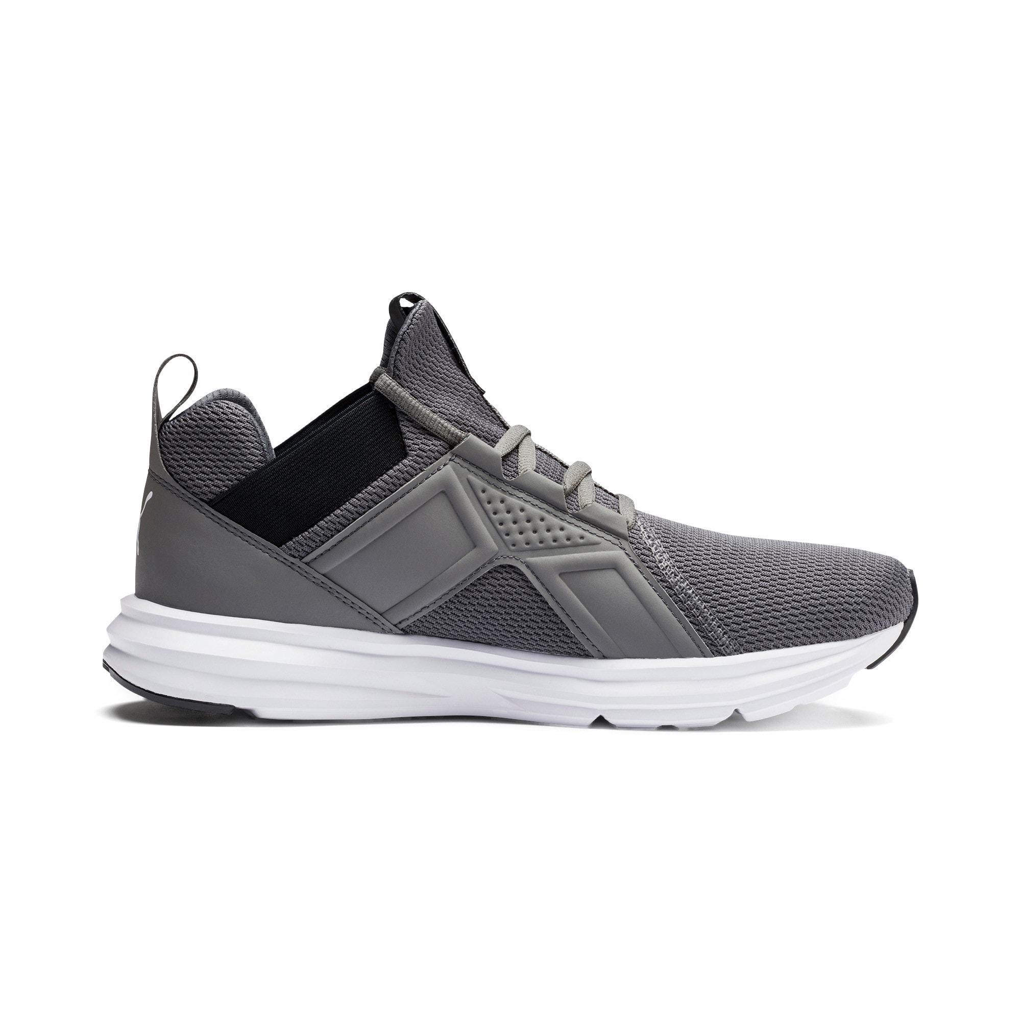 Miniatura 6 de Zapatos de entrenamiento Enzo Sport para hombre, CASTLEROCK-Puma Blk-Puma Wht, mediano