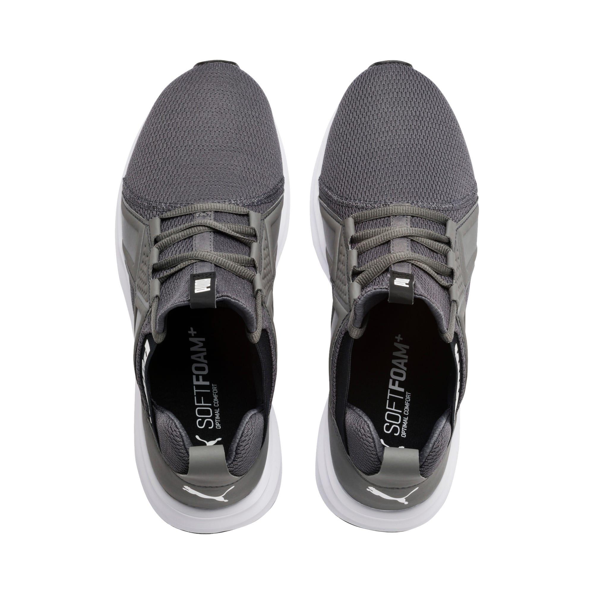 Miniatura 7 de Zapatos de entrenamiento Enzo Sport para hombre, CASTLEROCK-Puma Blk-Puma Wht, mediano