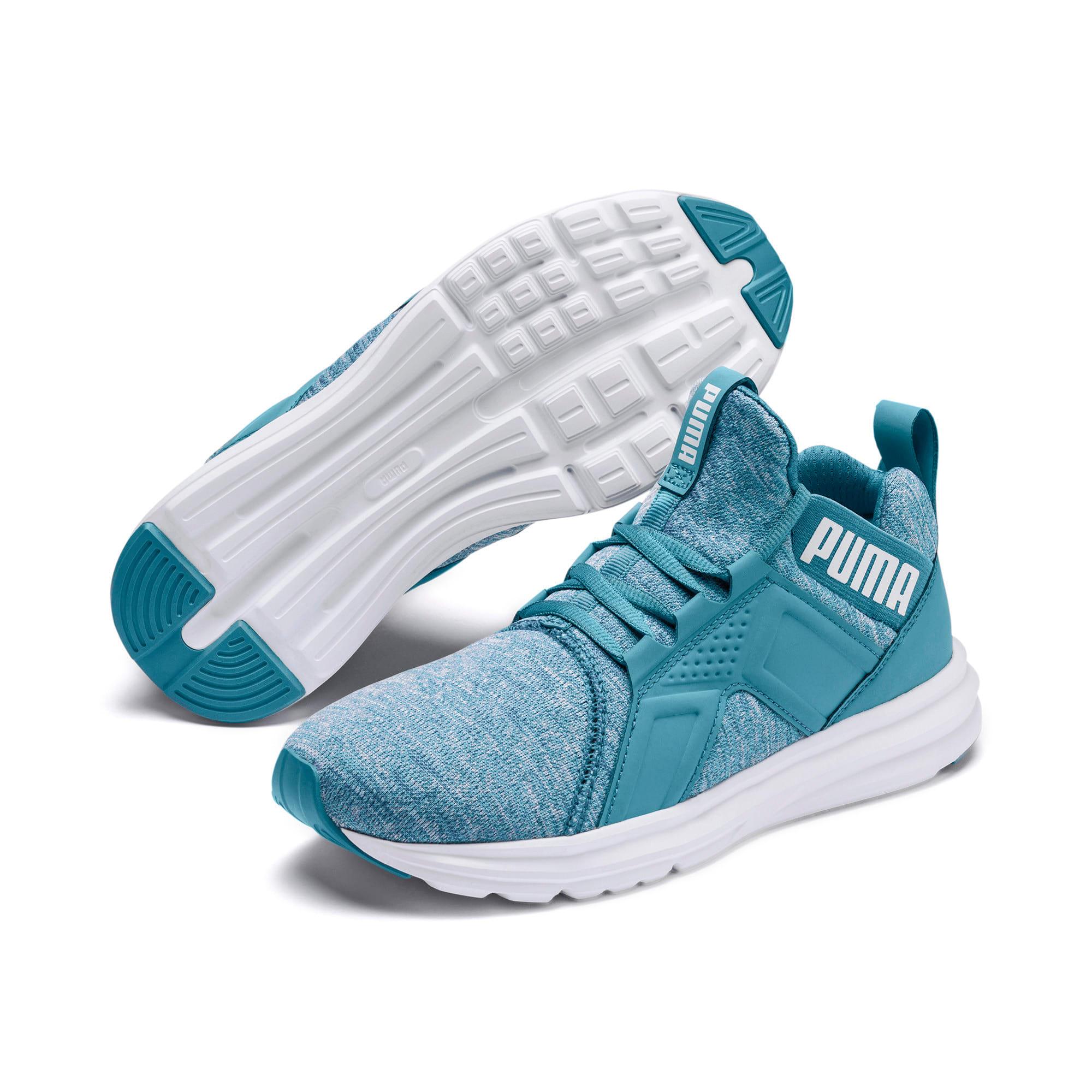 Thumbnail 2 of Enzo Heather Women's Sneakers, Bluestone-Milky Blue-White, medium