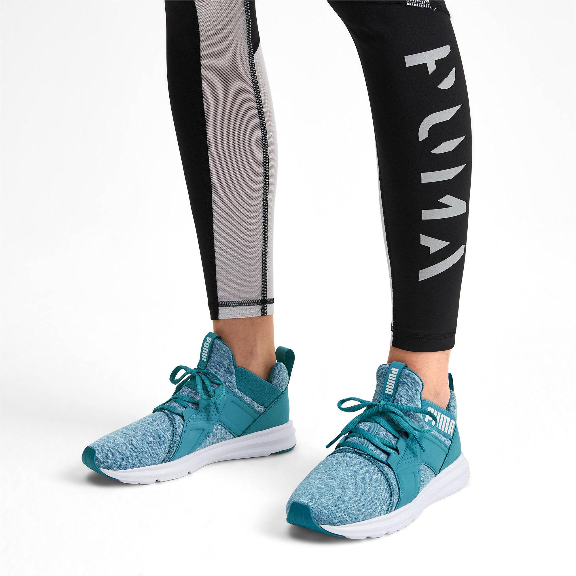 Thumbnail 3 of Enzo Heather Women's Sneakers, Bluestone-Milky Blue-White, medium