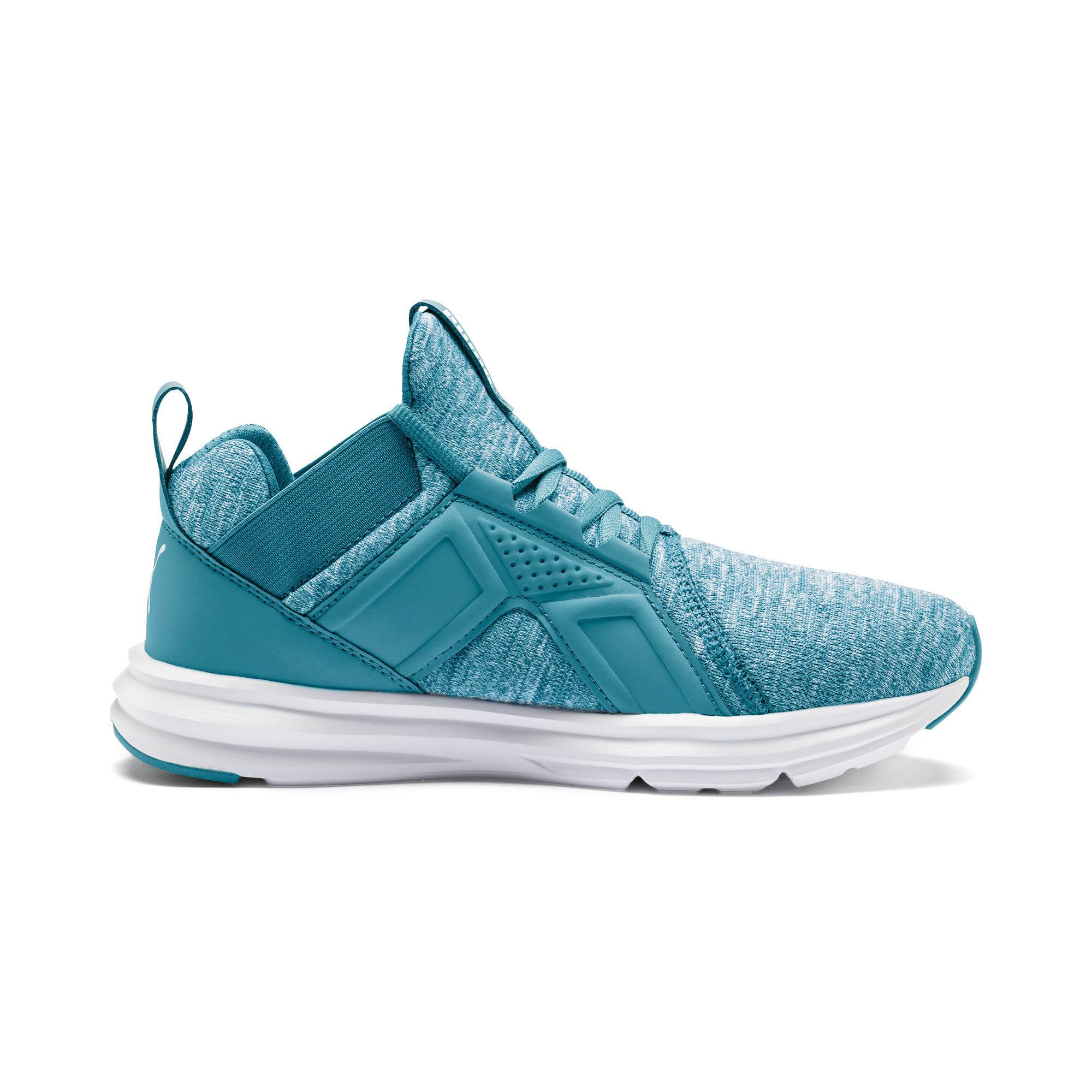 Thumbnail 6 of Enzo Heather Women's Sneakers, Bluestone-Milky Blue-White, medium