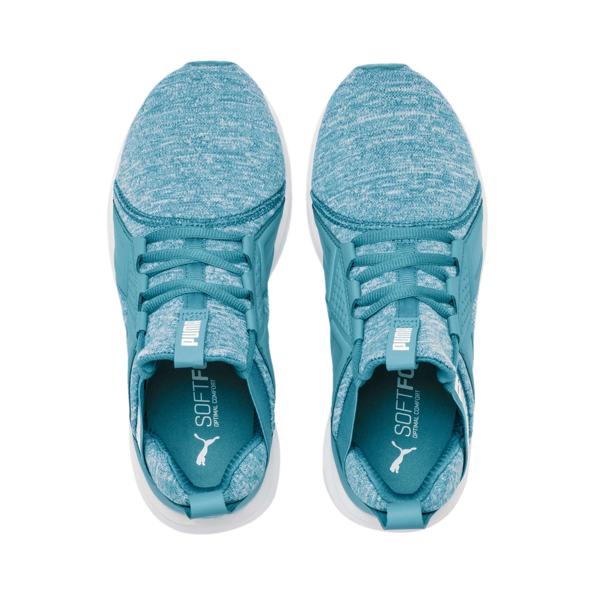 Thumbnail 7 of Enzo Heather Women's Sneakers, Bluestone-Milky Blue-White, medium
