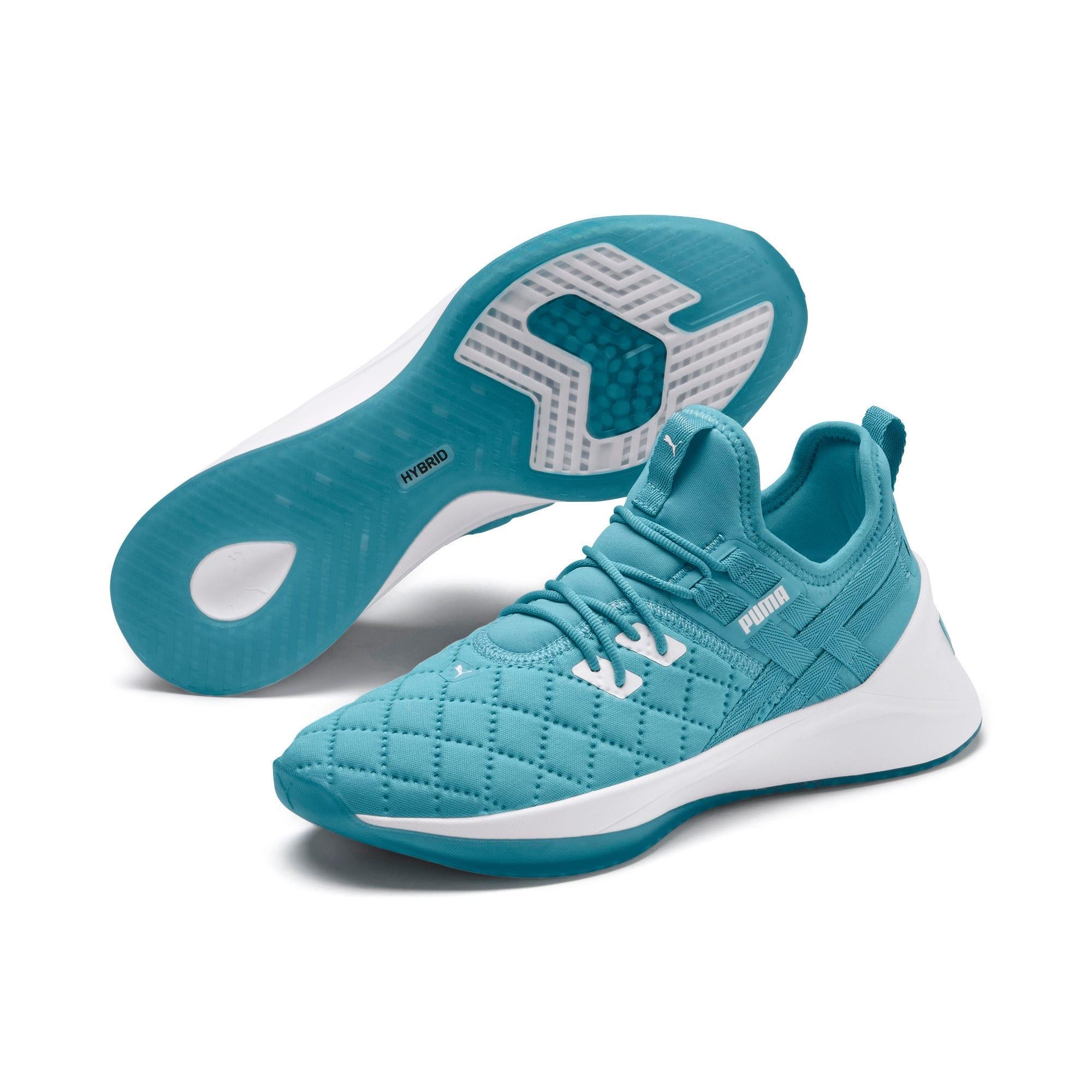Thumbnail 2 of Jaab XT Quilt Women's Training Shoes, Milky Blue-Puma White, medium