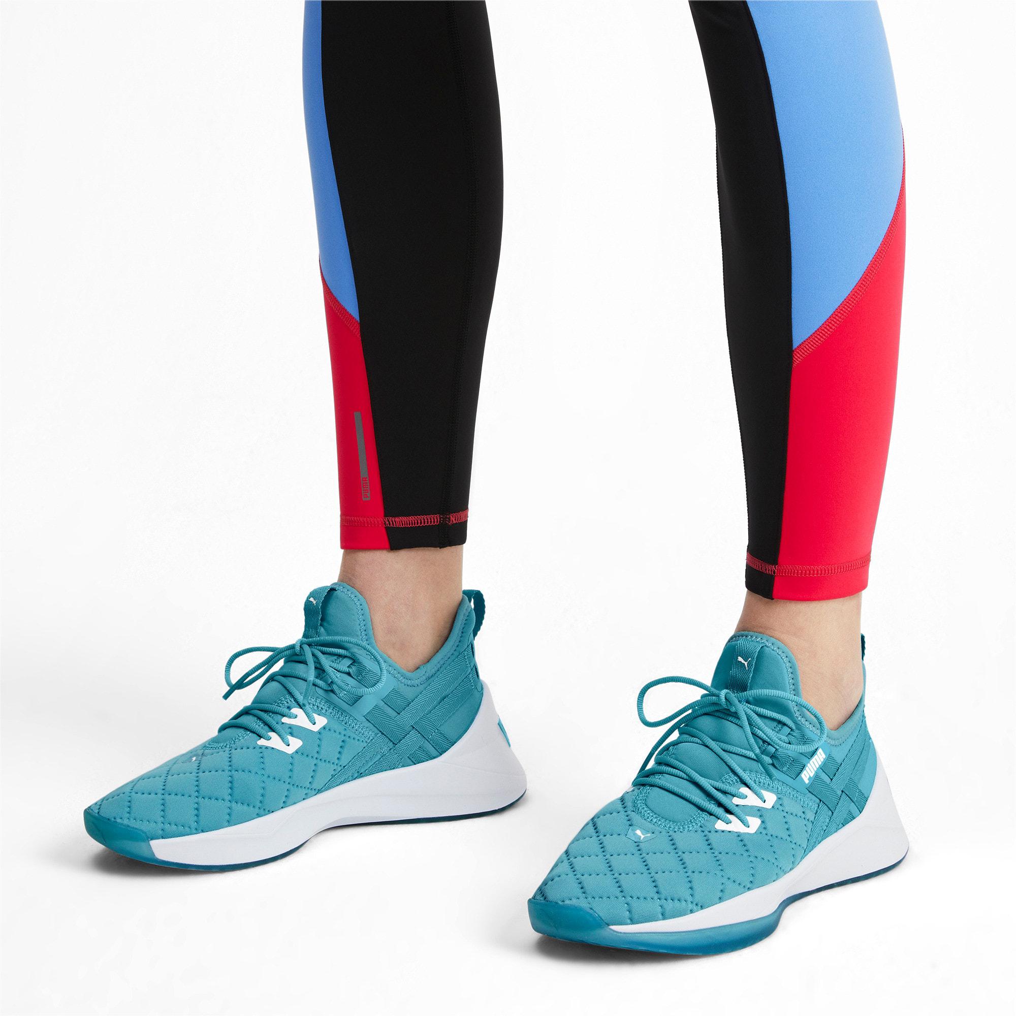 Thumbnail 3 of Jaab XT Quilt Women's Training Shoes, Milky Blue-Puma White, medium