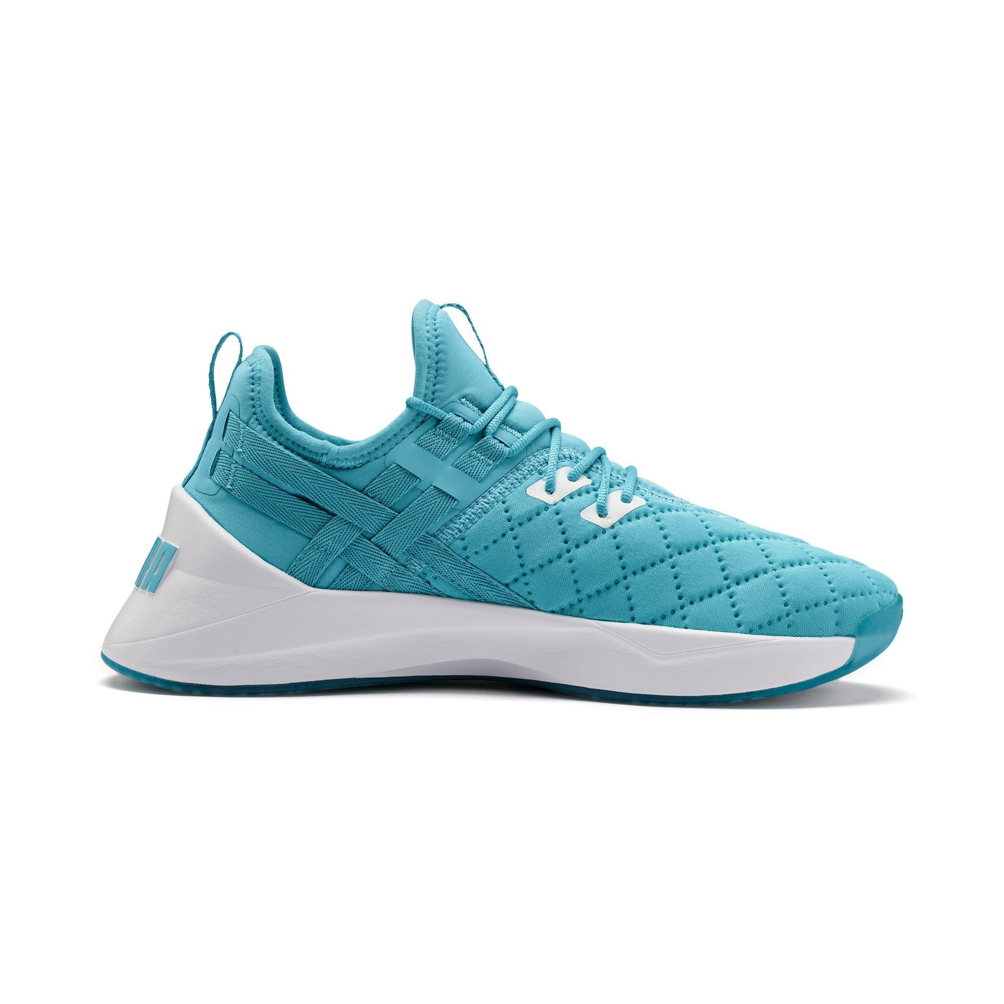 Thumbnail 6 of Jaab XT Quilt Women's Training Shoes, Milky Blue-Puma White, medium