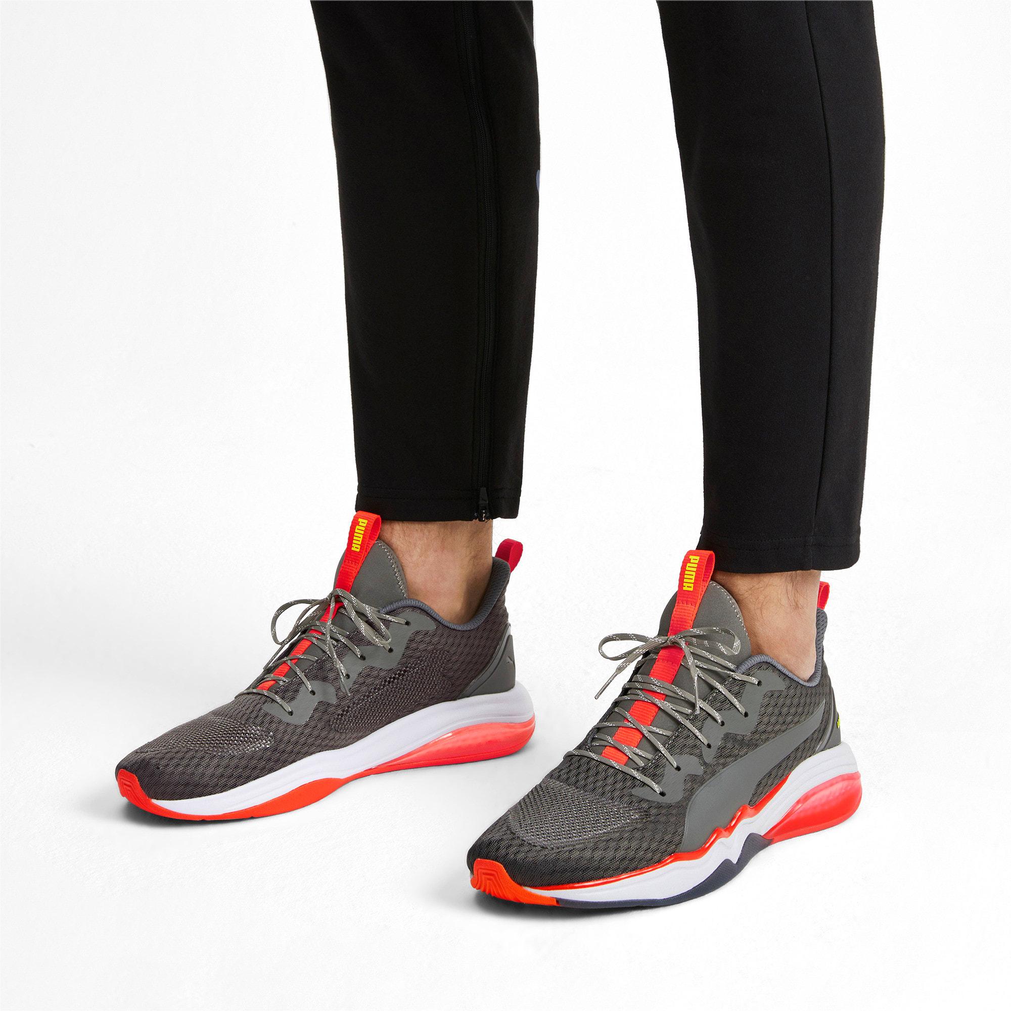 Thumbnail 3 of LQDCELL Tension Men's Training Shoes, CASTLEROCK-Nrgy Red-Y Alert, medium