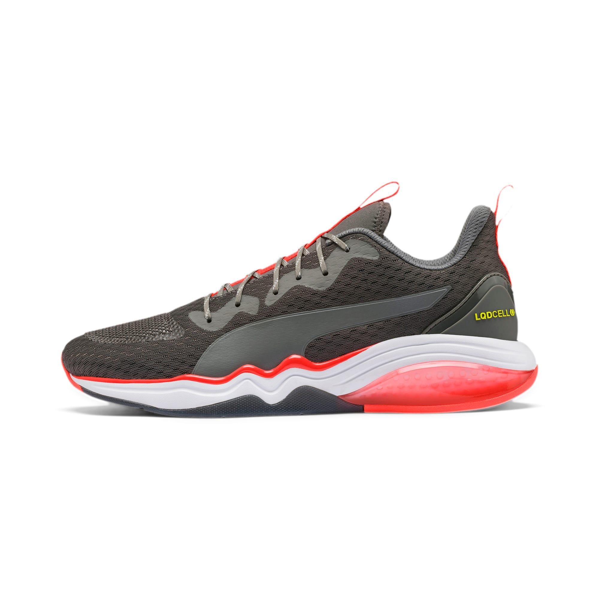 Thumbnail 1 of LQDCELL Tension Men's Training Shoes, CASTLEROCK-Nrgy Red-Y Alert, medium