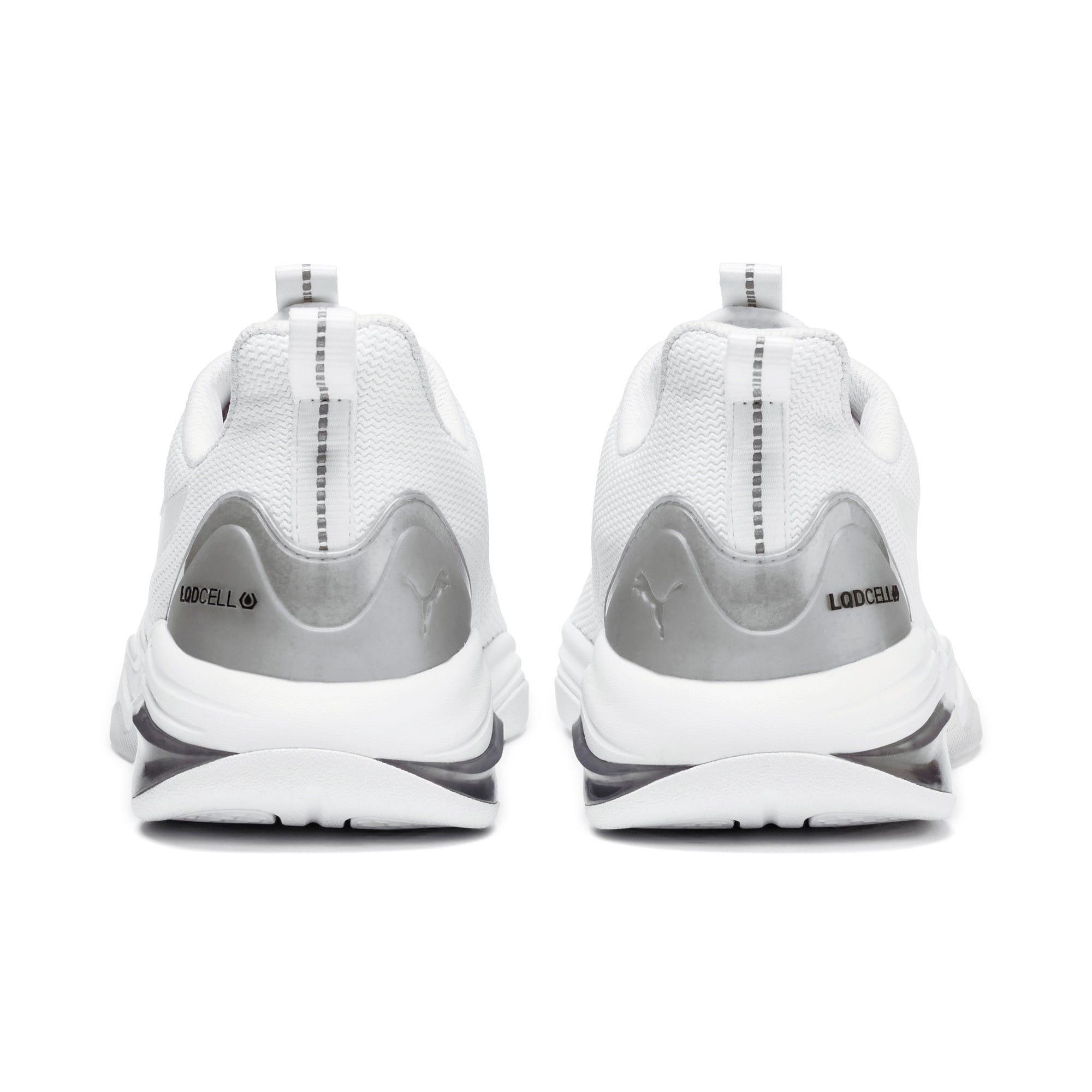 Thumbnail 4 of LQDCELL Tension Lights Men's Training Shoes, Puma White-Puma Silver, medium