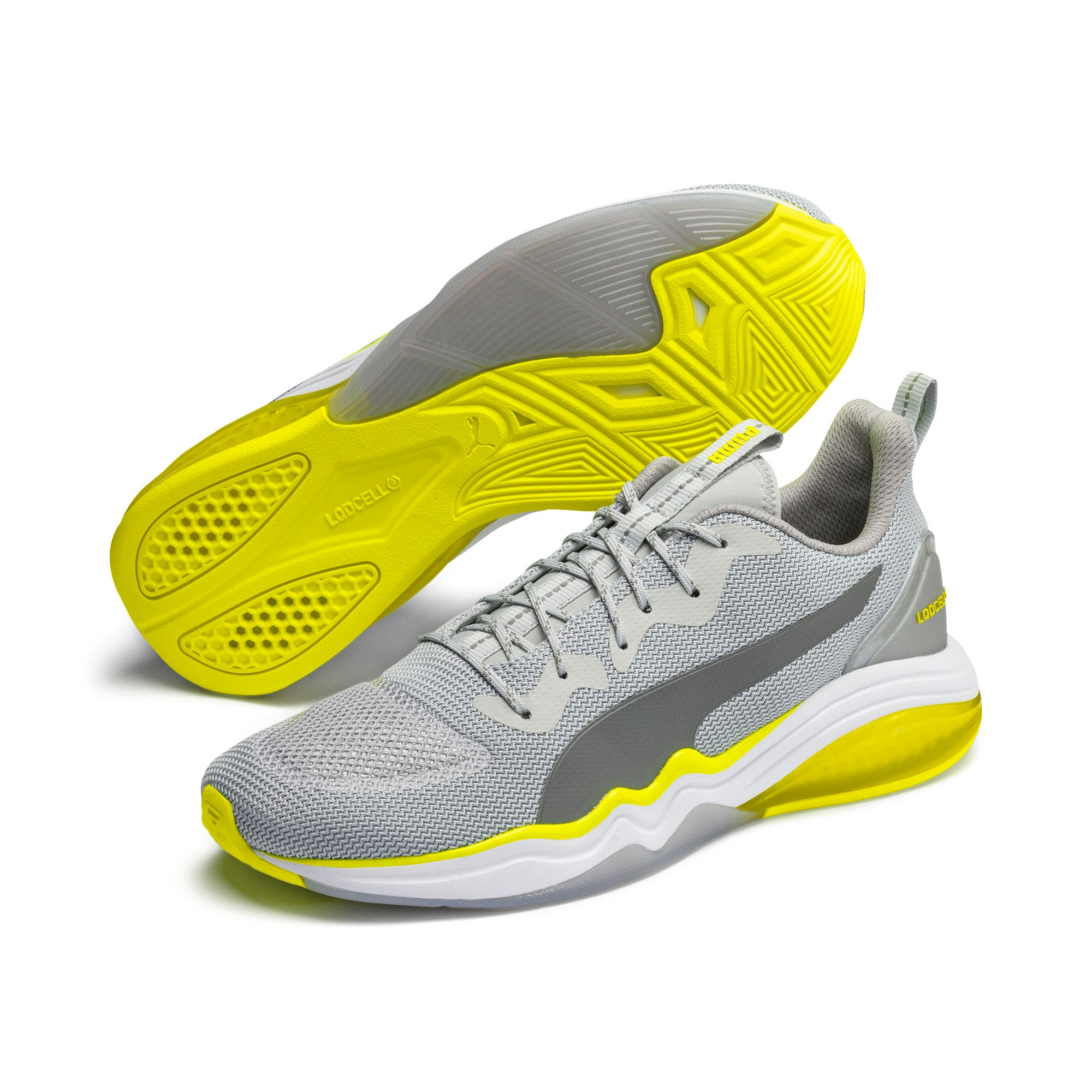 Thumbnail 3 of LQDCELL Tension Lights Men's Training Shoes, High Rise-Yellow Alert, medium