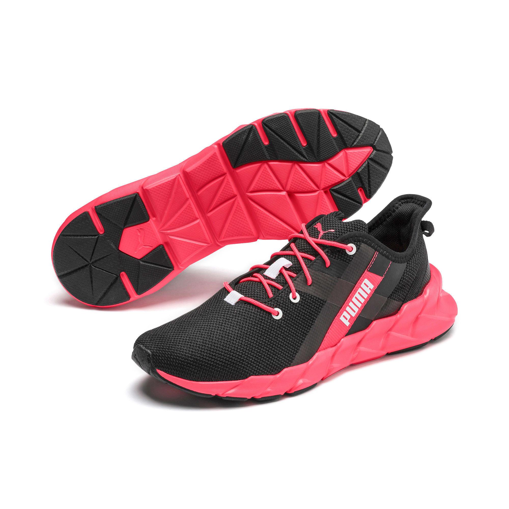 Thumbnail 3 of Weave XT Women's Training Shoes, Puma Black-Pink Alert, medium