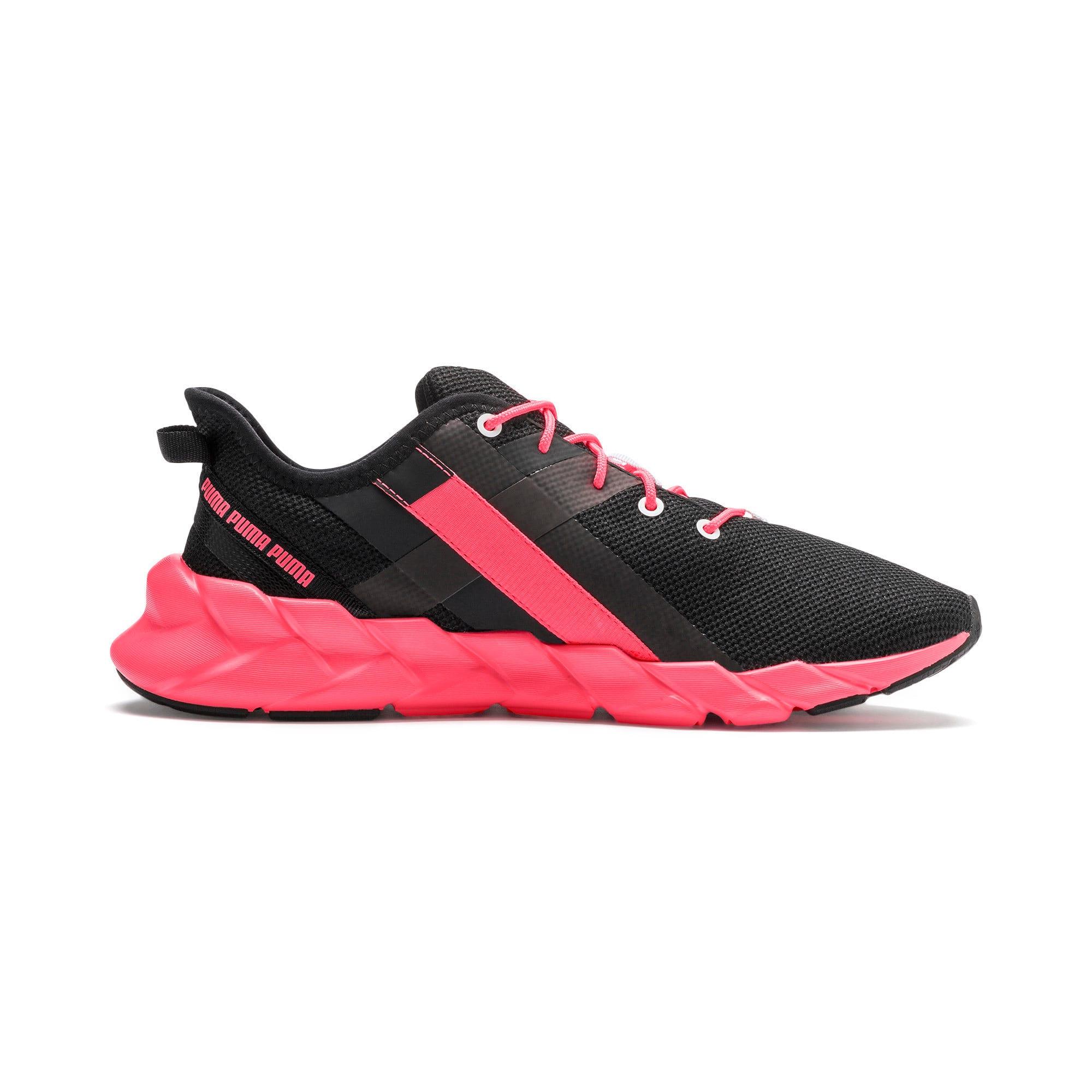 Thumbnail 6 of Weave XT Women's Training Shoes, Puma Black-Pink Alert, medium