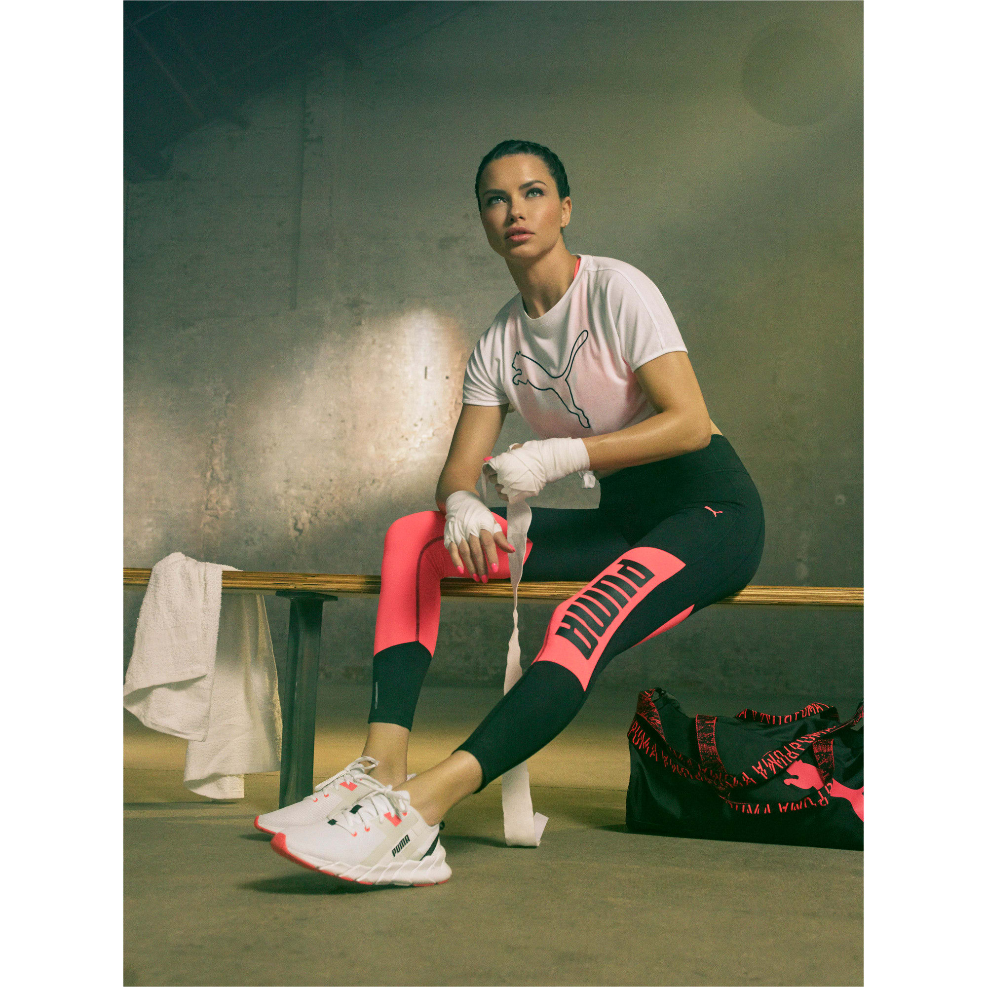 Thumbnail 12 of Weave XT Women's Training Shoes, Puma White-Pink Alert, medium