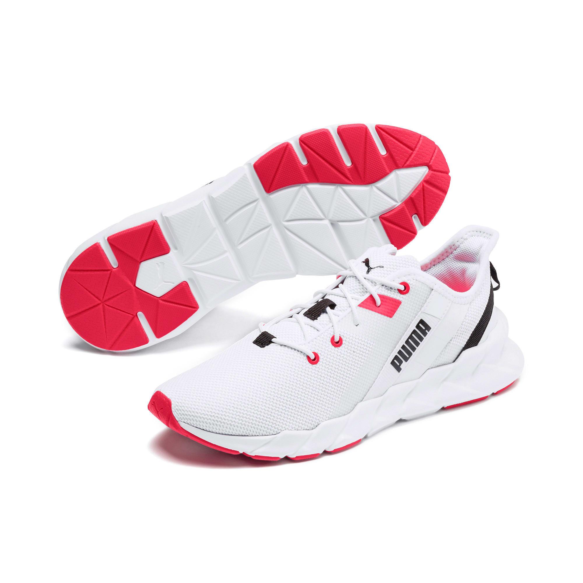 Thumbnail 3 of Weave XT Women's Training Shoes, Puma White-Pink Alert, medium