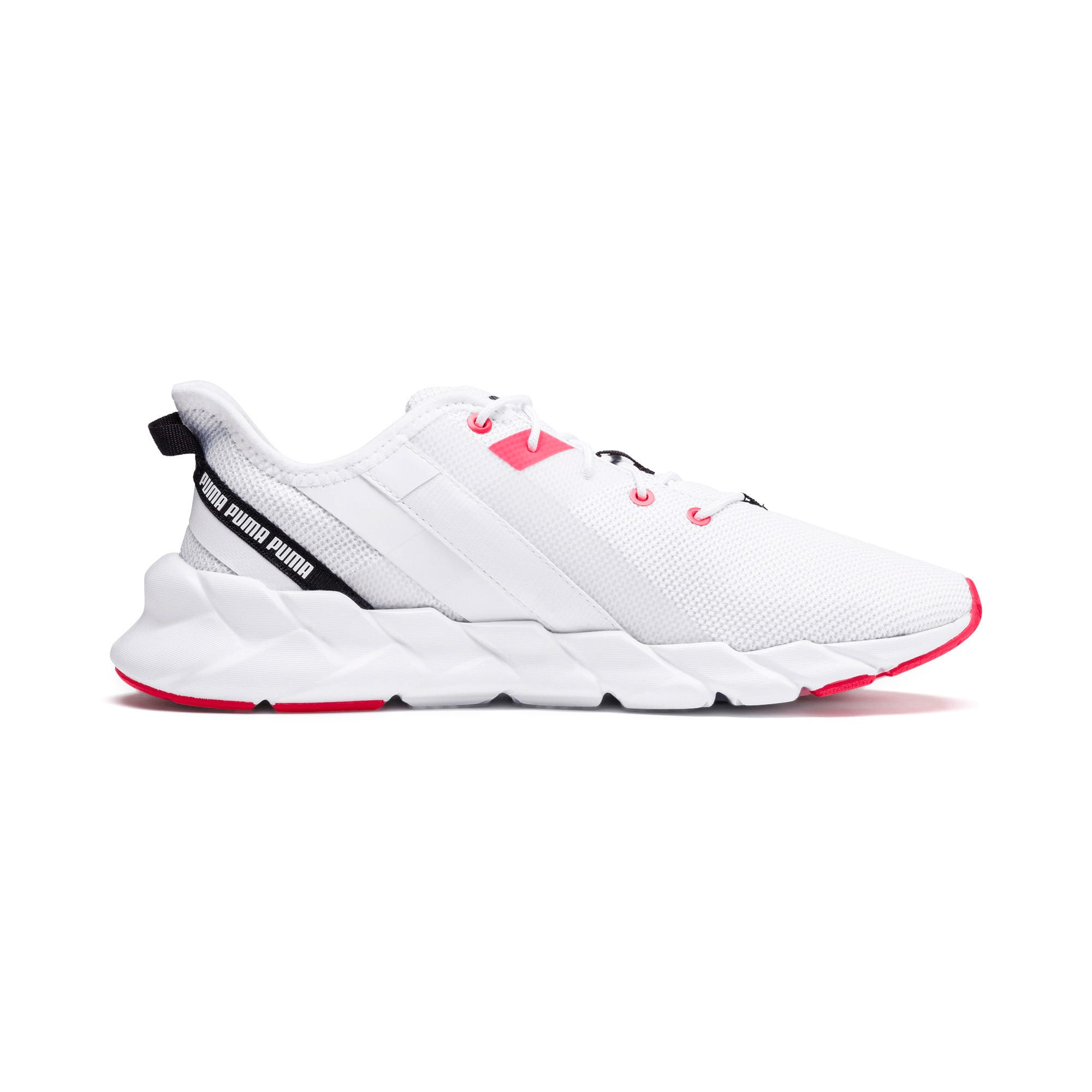Thumbnail 6 of Weave XT Women's Training Shoes, Puma White-Pink Alert, medium