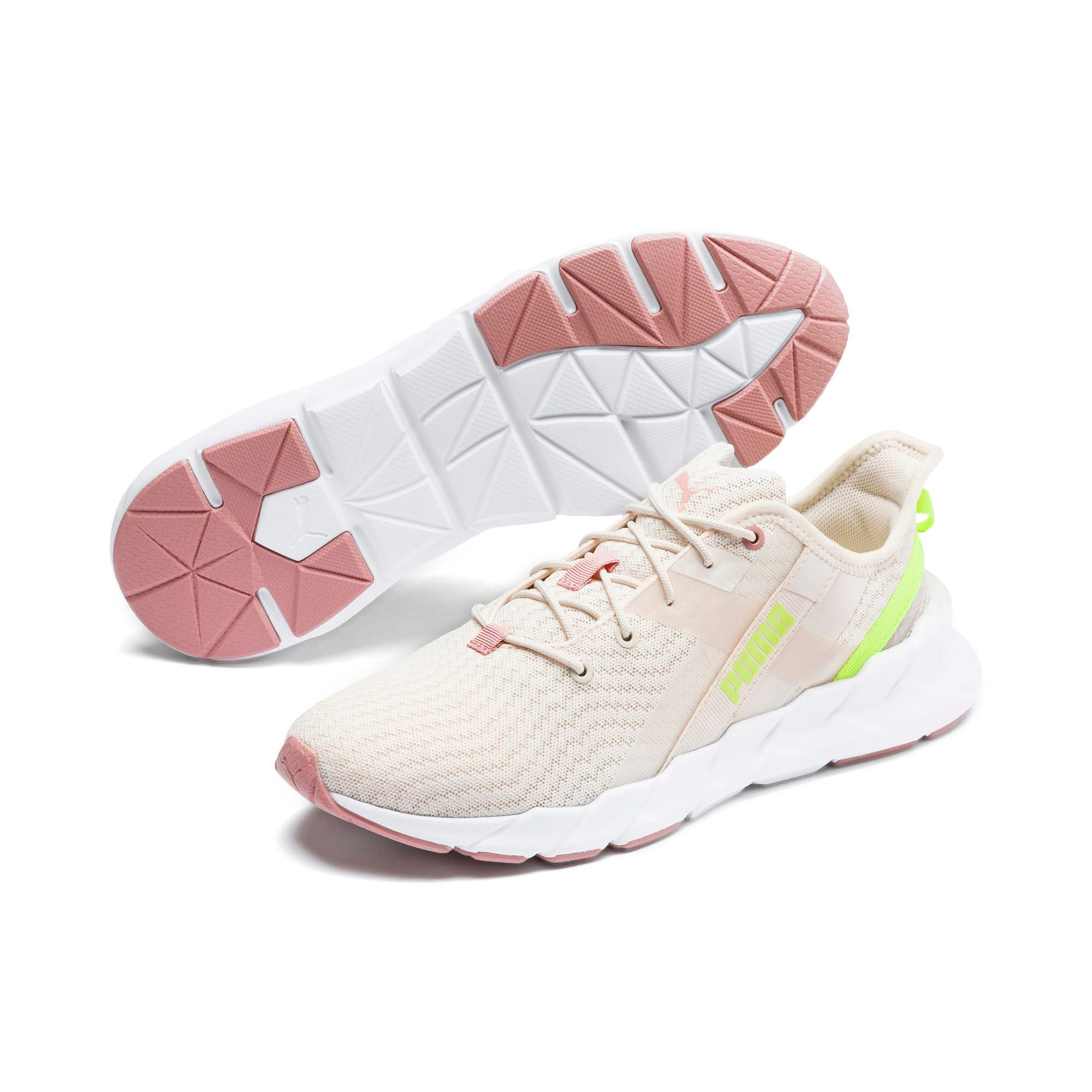Thumbnail 3 of Weave Shift XT Women's Training Shoes, Pastel Parchment-Puma White, medium
