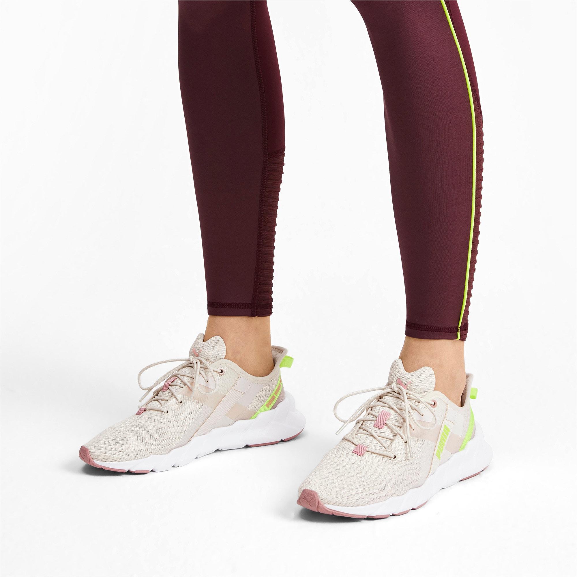 Thumbnail 2 of Weave Shift XT Women's Training Shoes, Pastel Parchment-Puma White, medium
