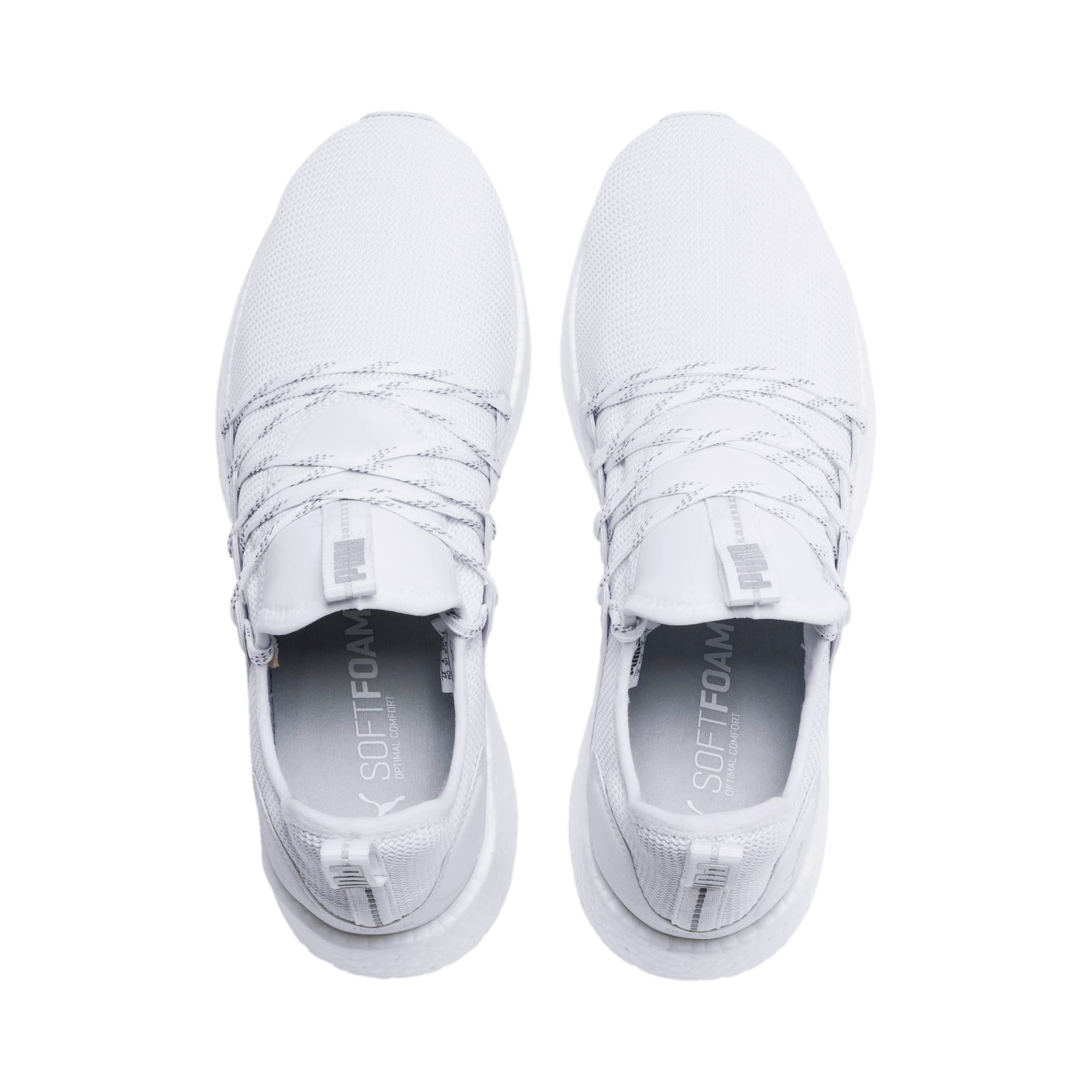 Thumbnail 4 of NRGY Neko Lights Men's Running Shoes, Puma White, medium-IND