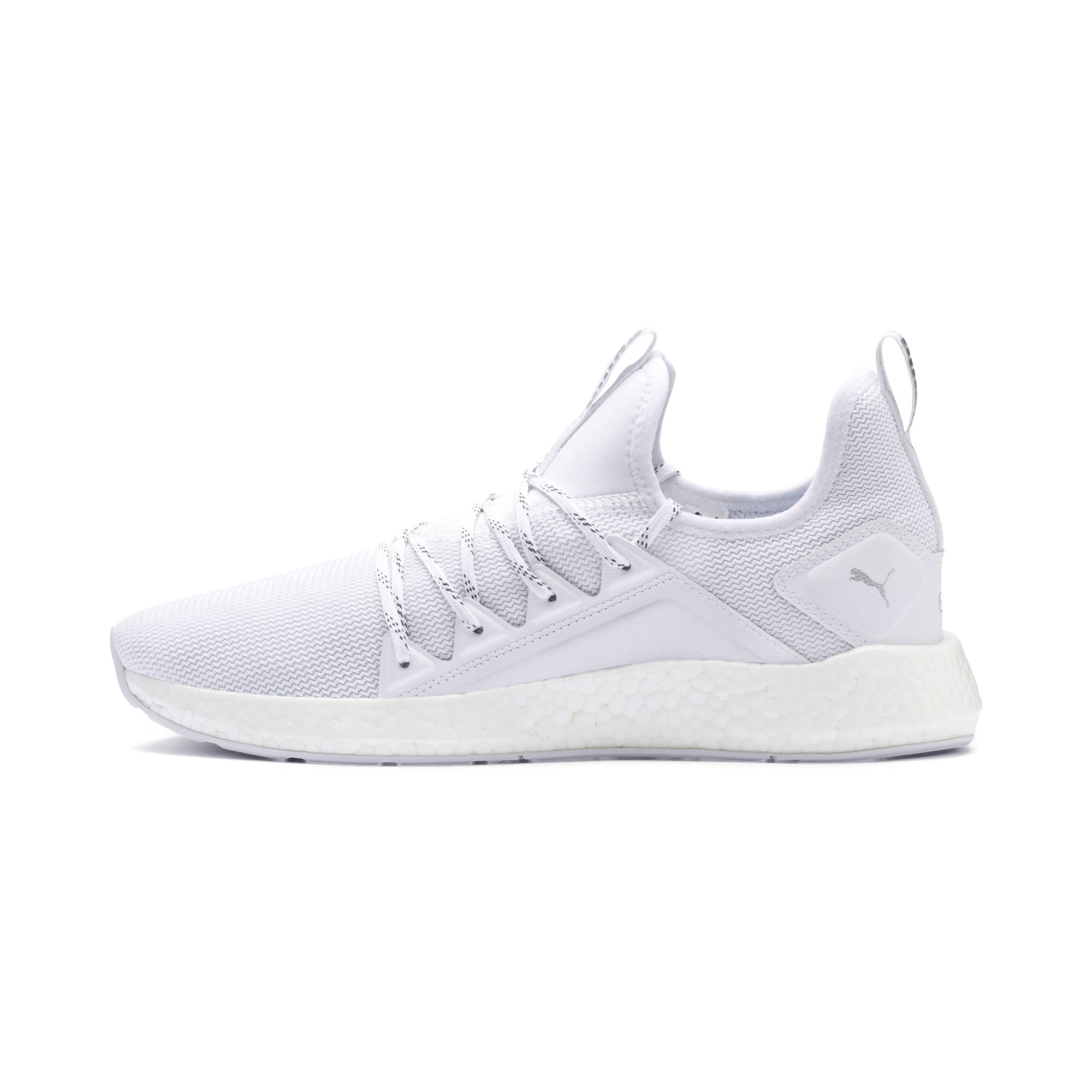 Thumbnail 1 of NRGY Neko Lights Men's Running Shoes, Puma White, medium