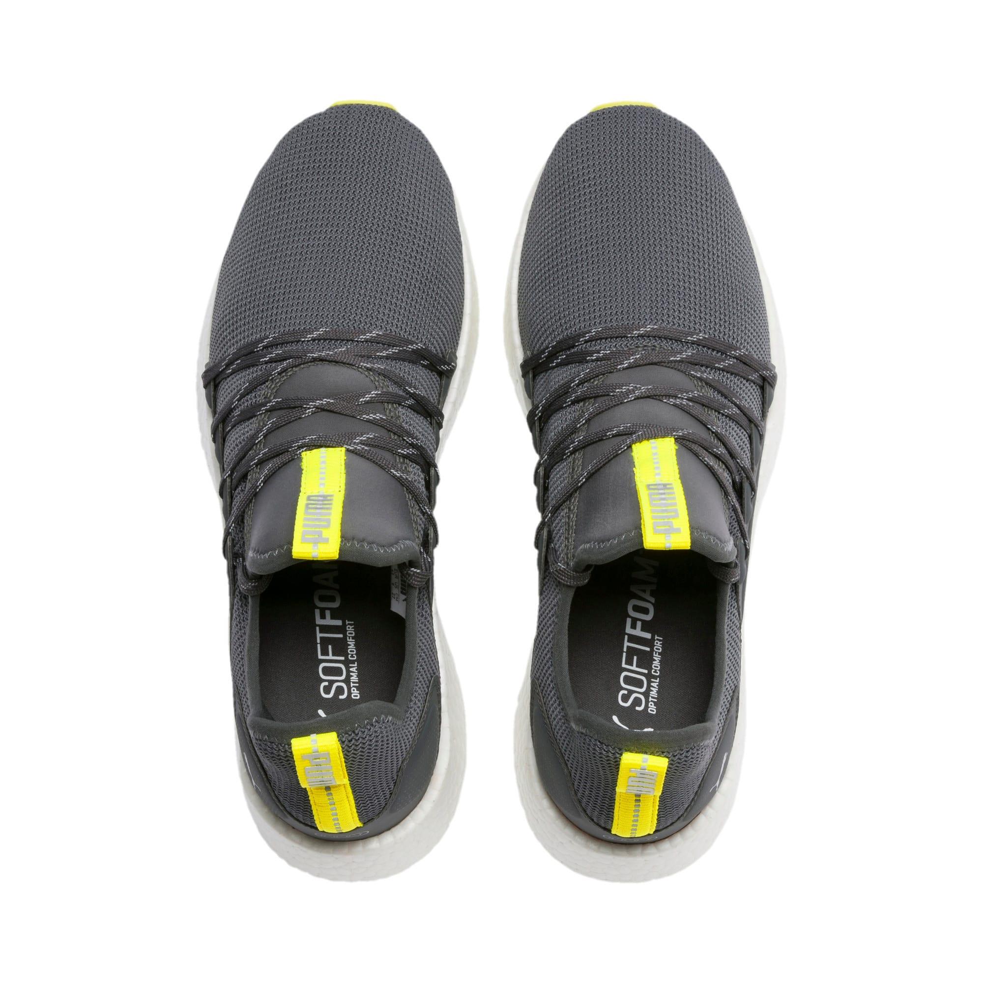 Thumbnail 4 of NRGY Neko Lights Men's Running Shoes, CASTLEROCK-Yellow Alert, medium-IND