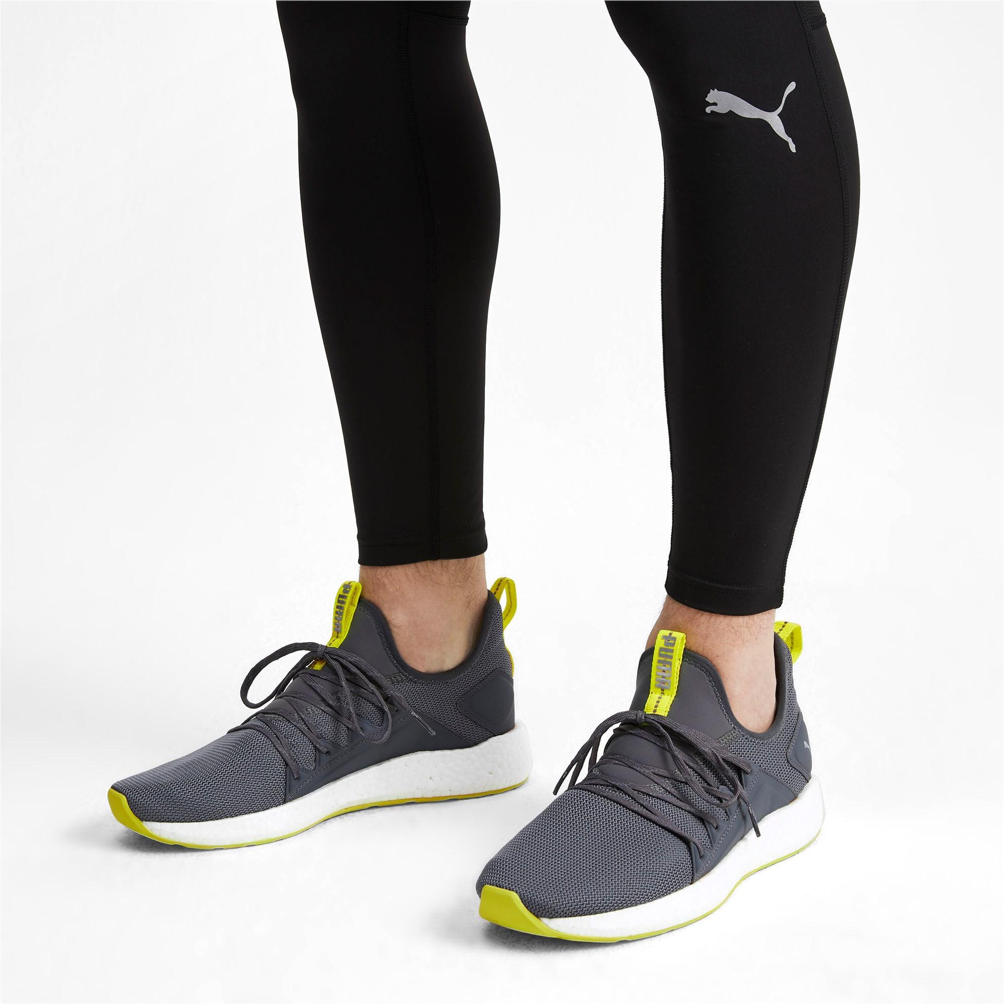 Thumbnail 3 of NRGY Neko Lights Men's Running Shoes, CASTLEROCK-Yellow Alert, medium-IND