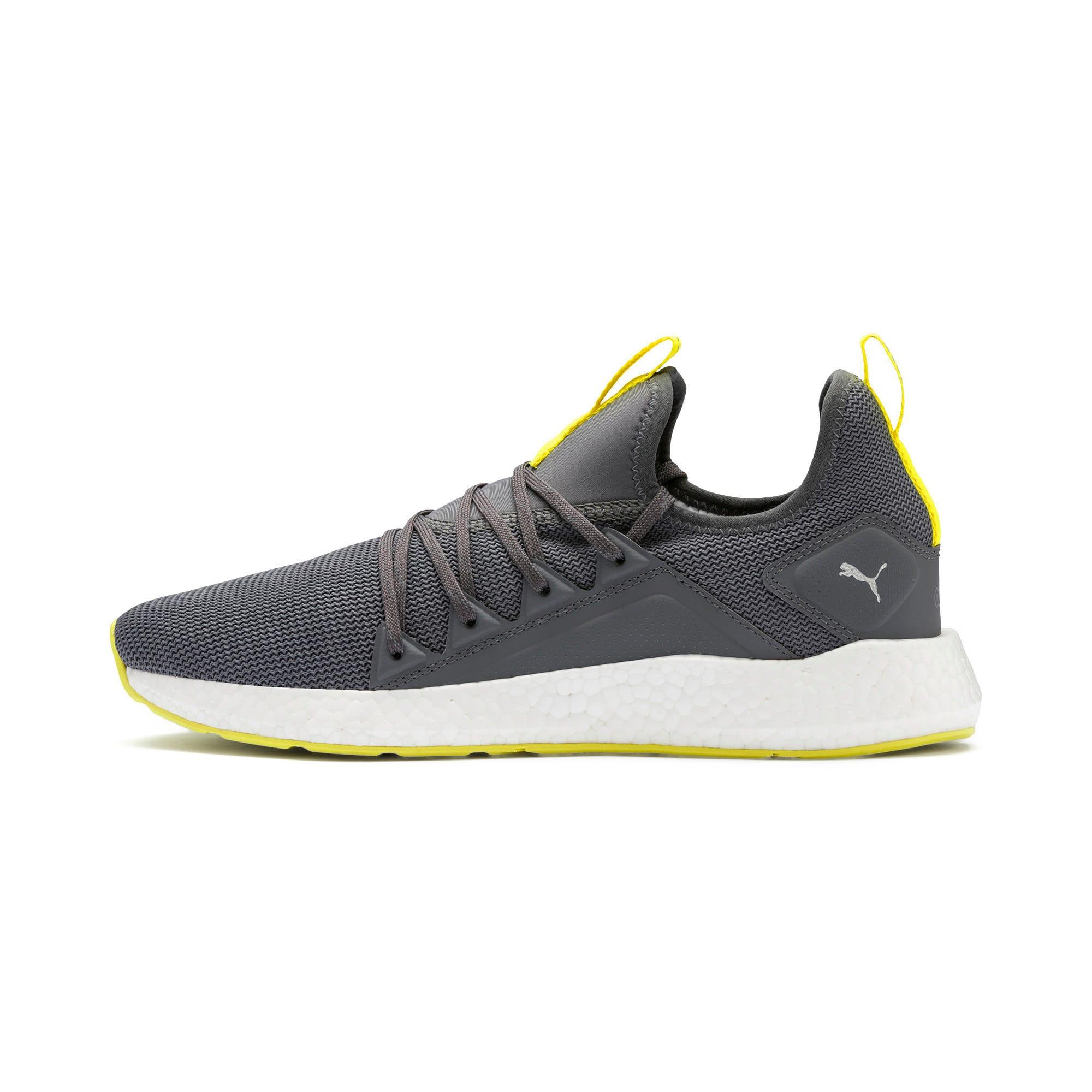 Thumbnail 1 of NRGY Neko Lights Men's Running Shoes, CASTLEROCK-Yellow Alert, medium-IND
