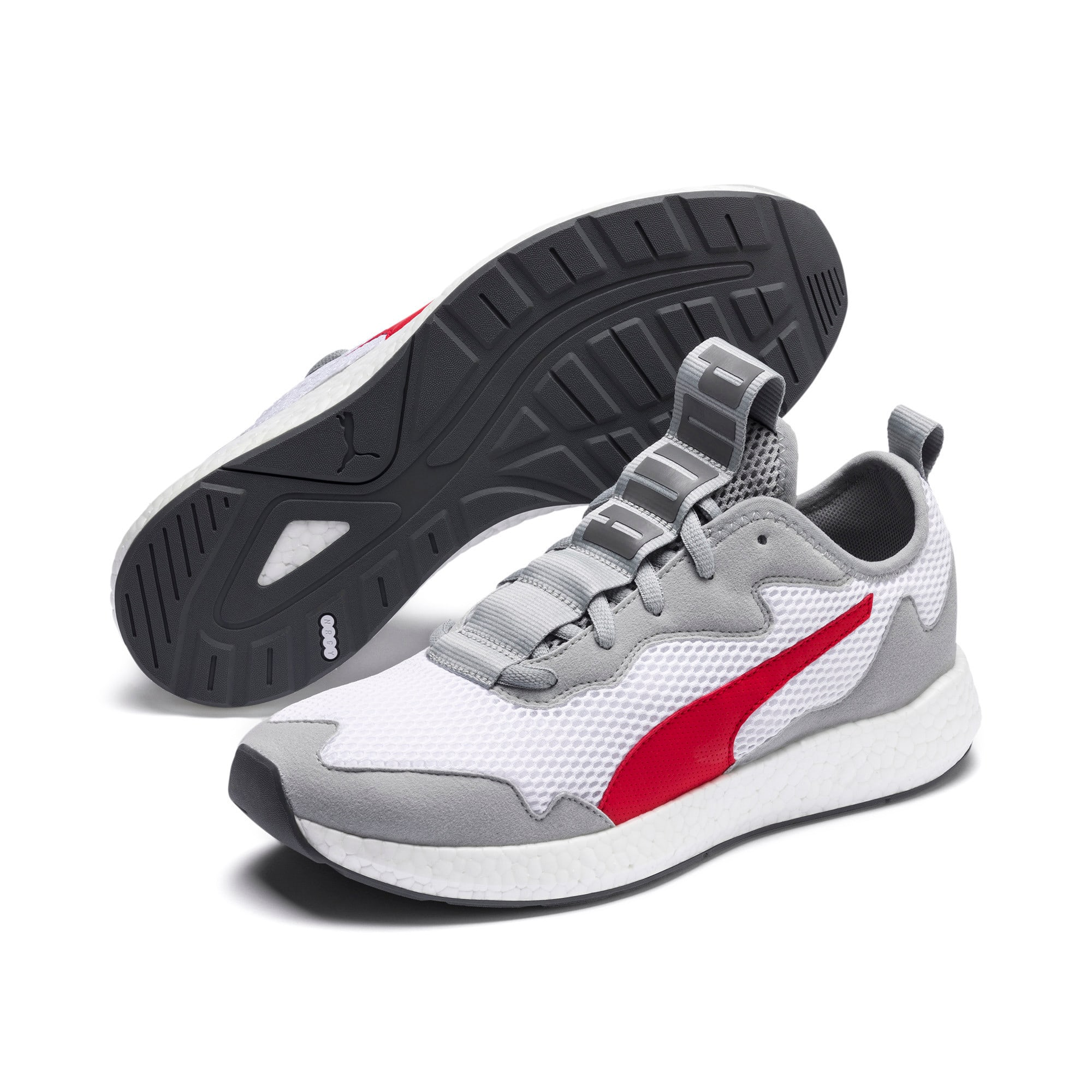 Miniatura 2 de Zapatos para correr NRGY Neko Skim para hombre, High Rise-High Risk Red, mediano