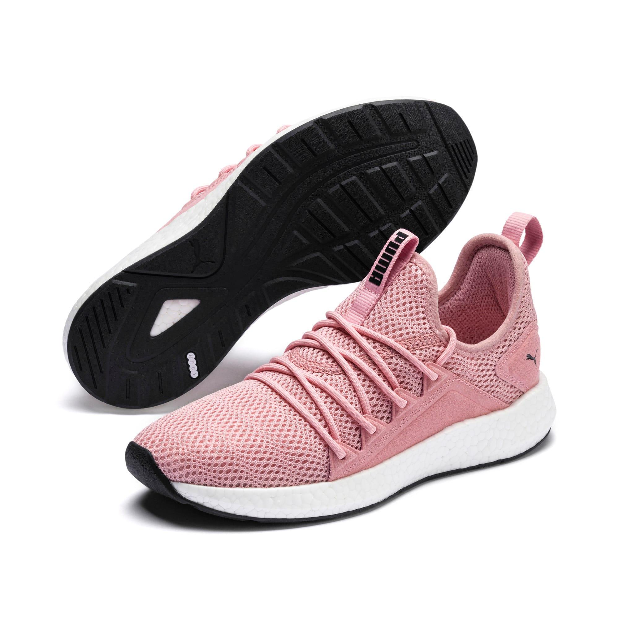 Thumbnail 3 of NRGY Neko Shift Women's Running Shoes, Bridal Rose-Puma White, medium