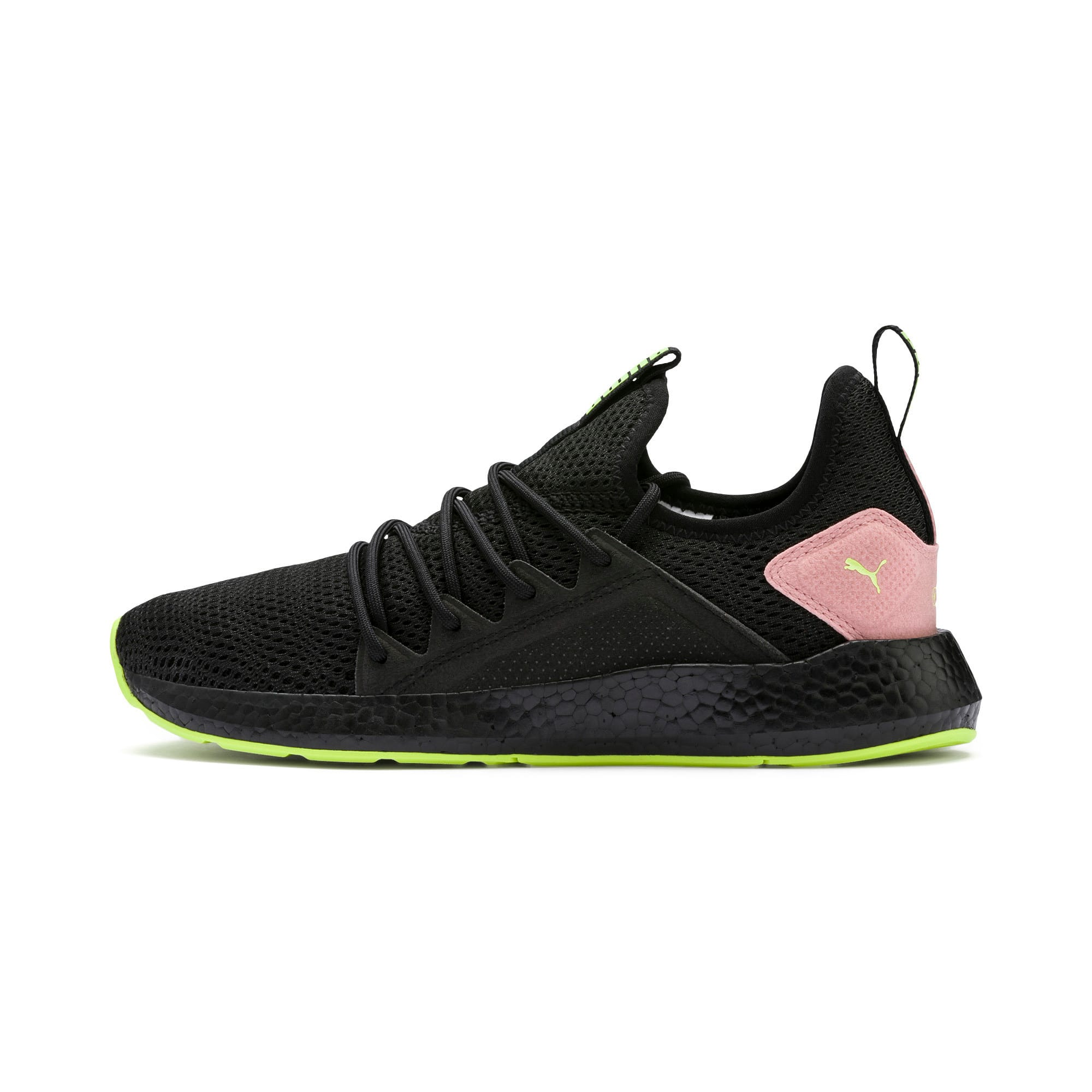 Thumbnail 1 of NRGY Neko Shift Women's Running Shoes, Puma Black-Bridal Rose, medium