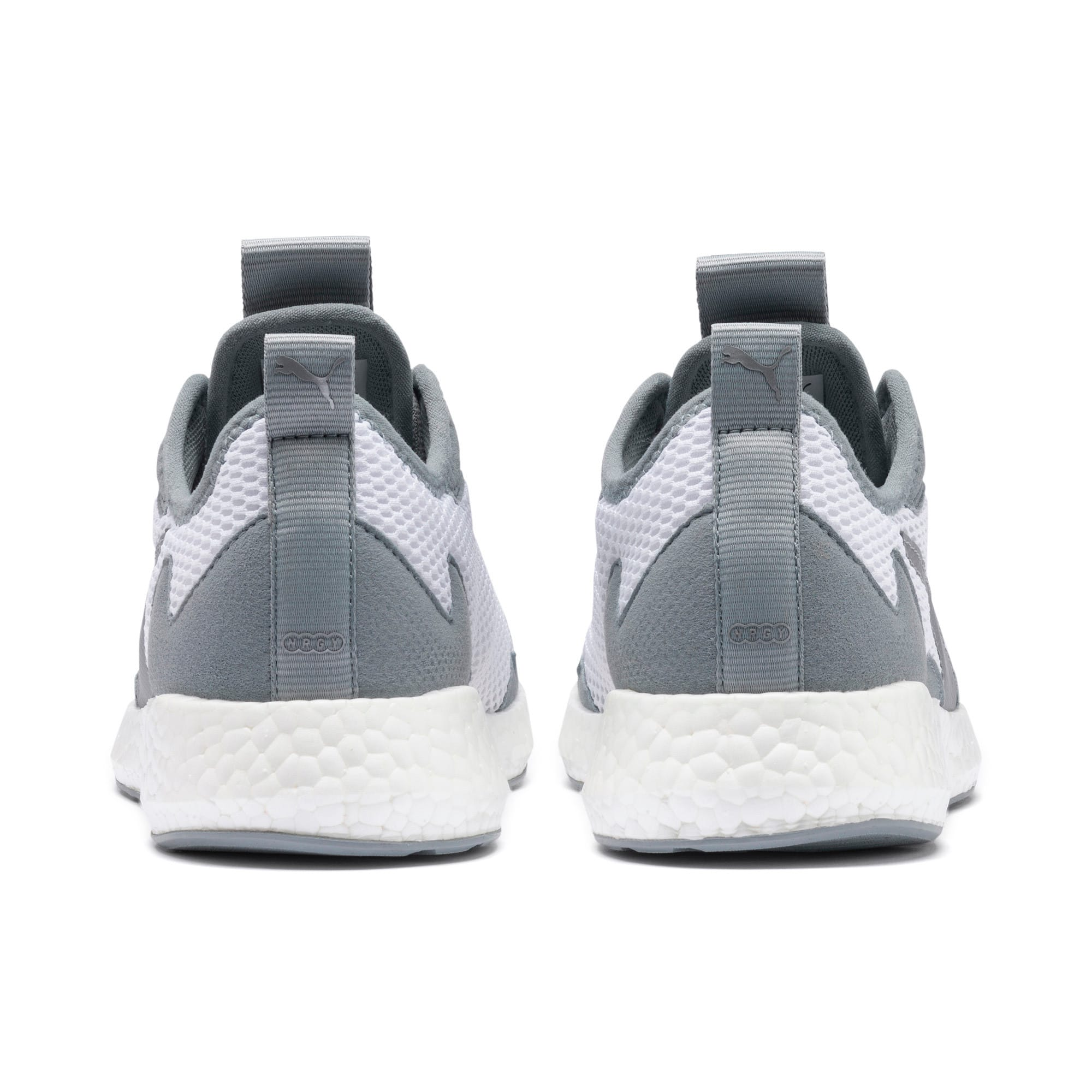 Thumbnail 4 of NRGY Neko Skim Women's Running Shoes, Puma White-Quarry, medium