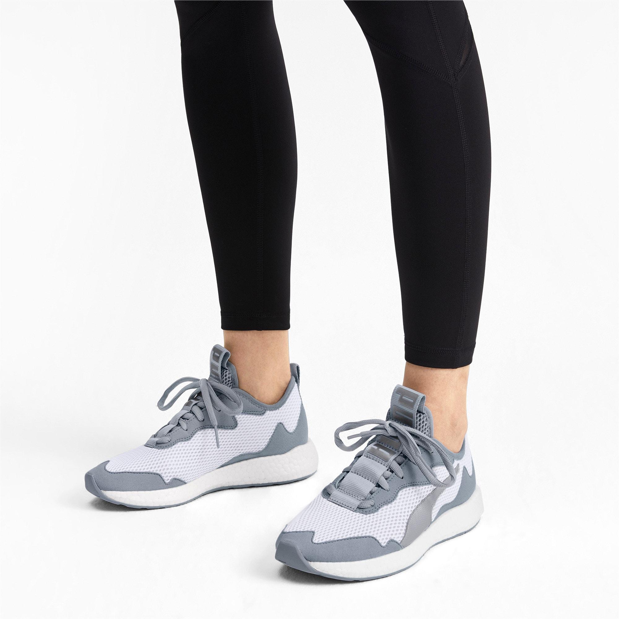 Miniatura 3 de Zapatos para correr NRGY Neko Skim para mujer, Puma White-Quarry, mediano