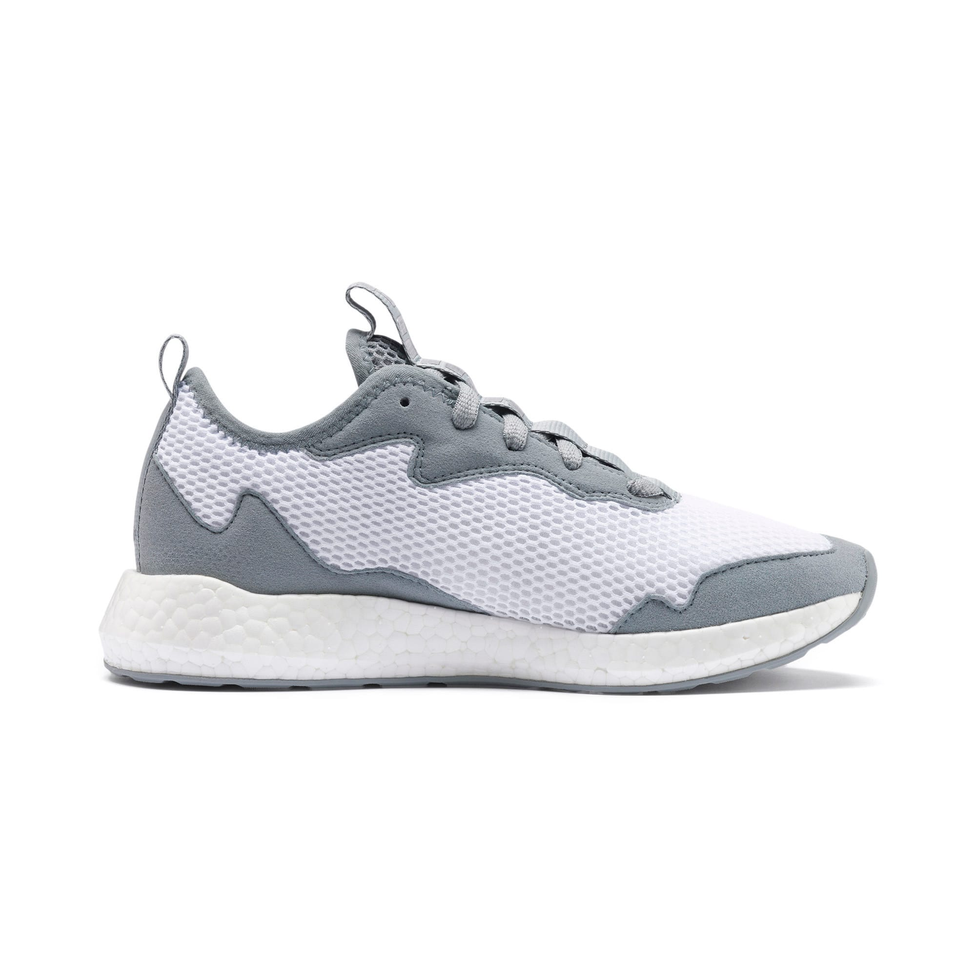 Thumbnail 6 of NRGY Neko Skim Women's Running Shoes, Puma White-Quarry, medium