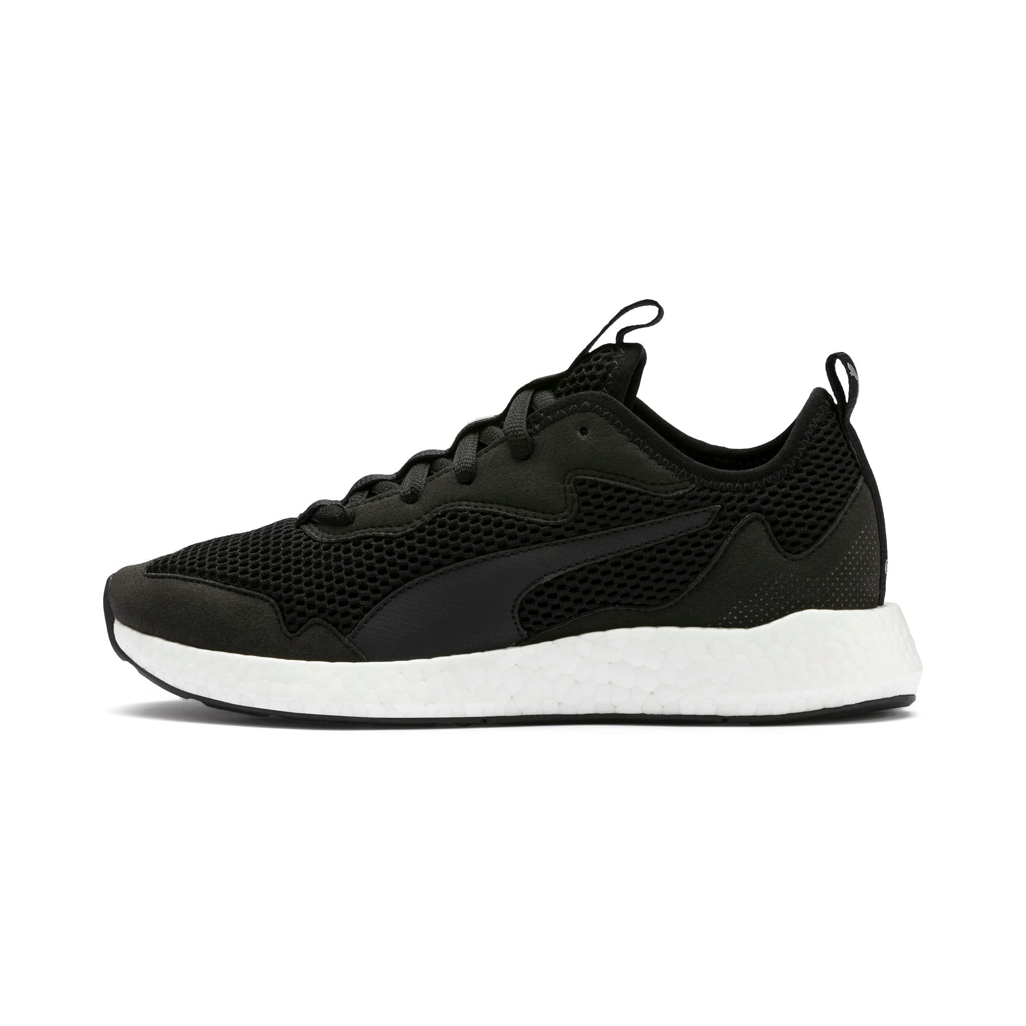 Thumbnail 1 of NRGY Neko Skim Women's Running Shoes, Puma Black-Puma Silver, medium