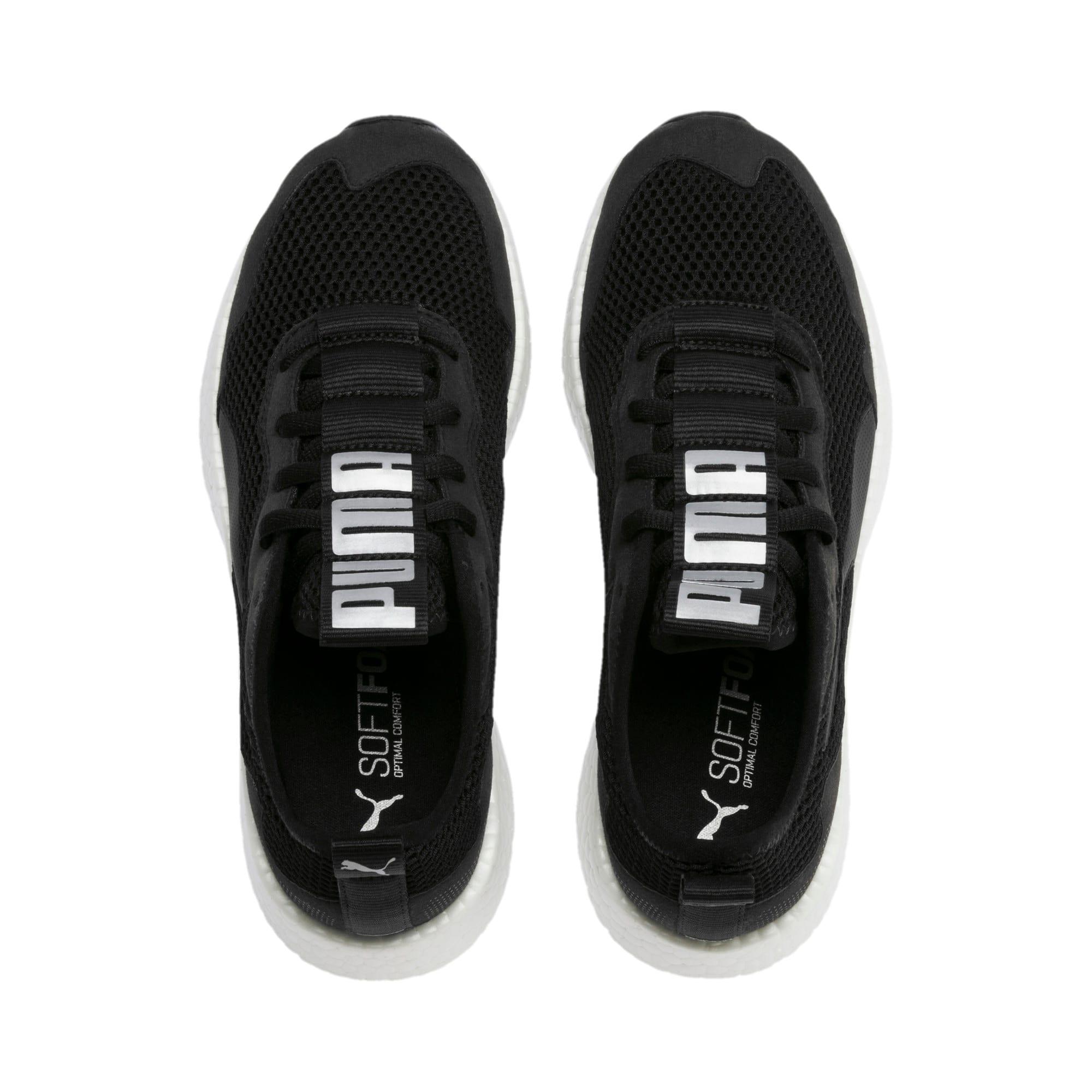 Thumbnail 7 of NRGY Neko Skim Women's Running Shoes, Puma Black-Puma Silver, medium