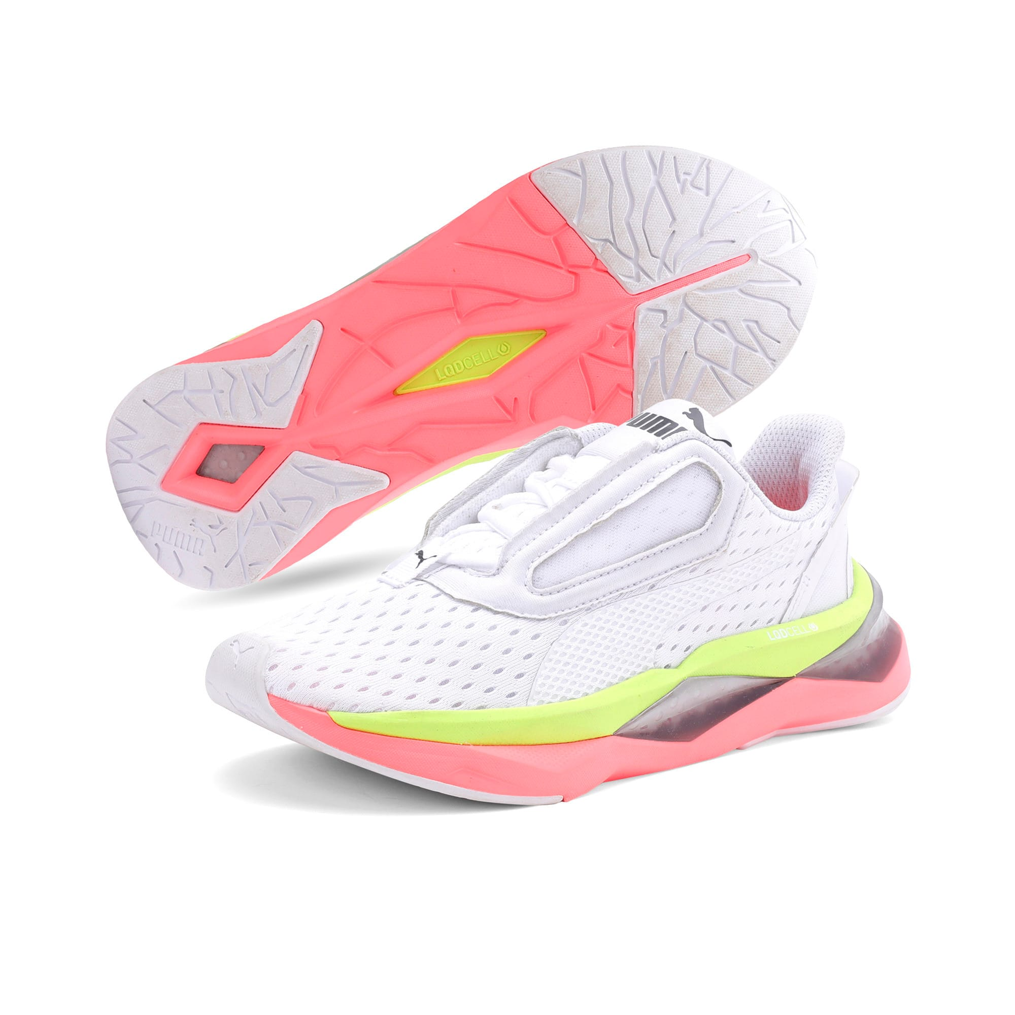 Thumbnail 4 of LQDCell Shatter XT Women's Training Shoes, Puma White-Pink Alert, medium-IND