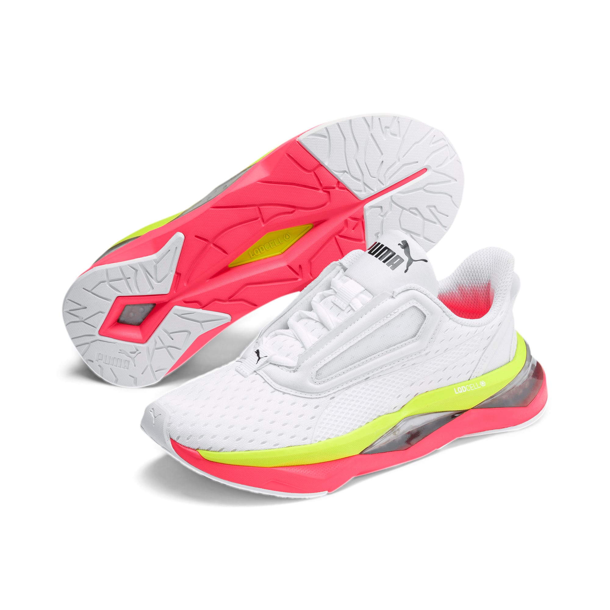 Thumbnail 3 of LQDCELL Shatter XT Women's Training Shoes, Puma White-Pink Alert, medium