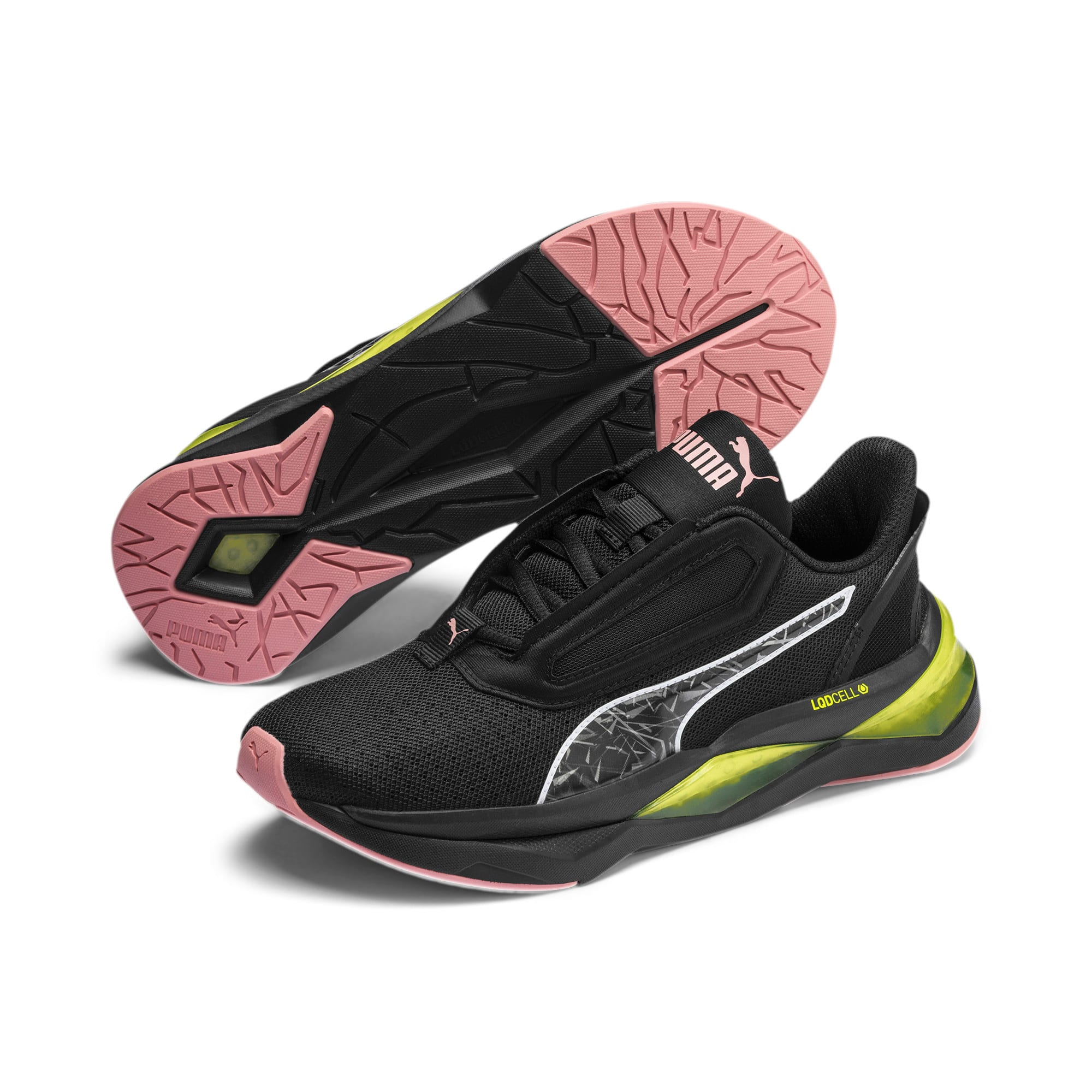 Thumbnail 3 of LQDCELL Shatter XT Shift Women's Training Shoes, Puma Black-Yellow Alert, medium