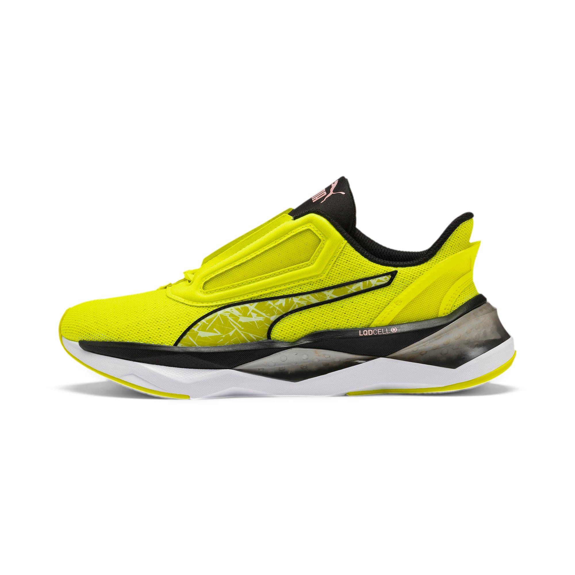 Thumbnail 1 of LQDCELL Shatter XT Shift Women's Training Shoes, Yellow Alert-Puma Black, medium