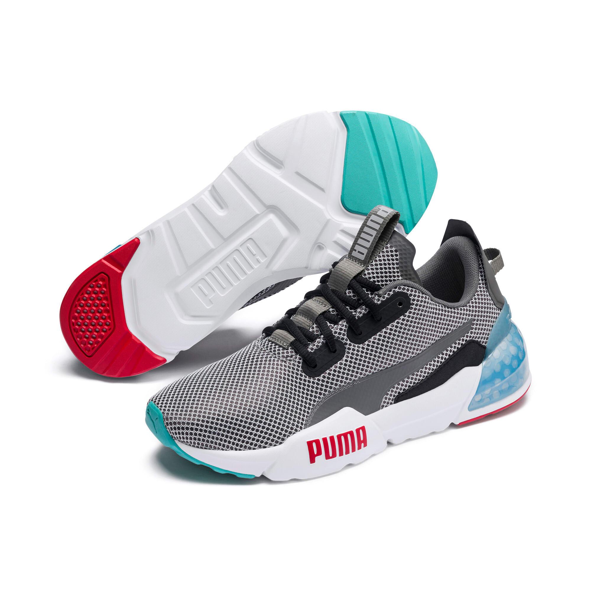 Thumbnail 3 of CELL Phase Men's Training Shoes, CASTLEROCK-White-HighRiskRed, medium