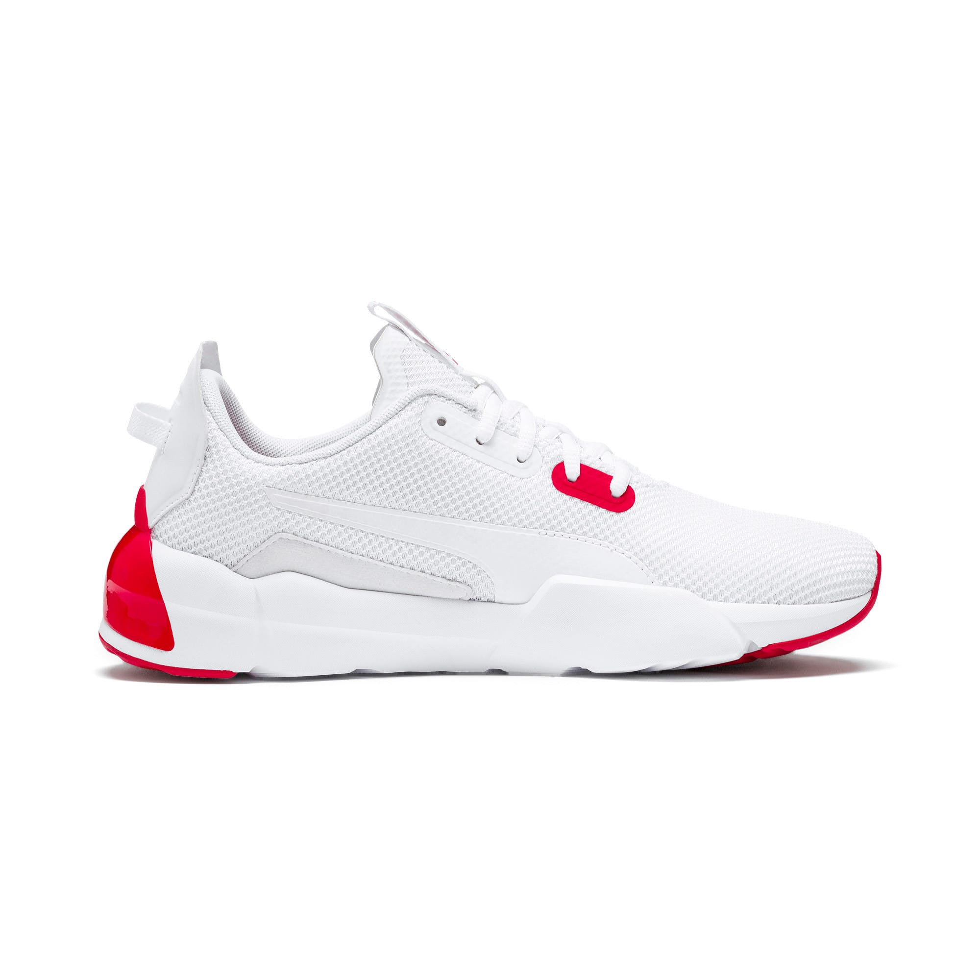 Thumbnail 6 of CELL Phase Men's Training Shoes, Puma White-High Risk Red, medium