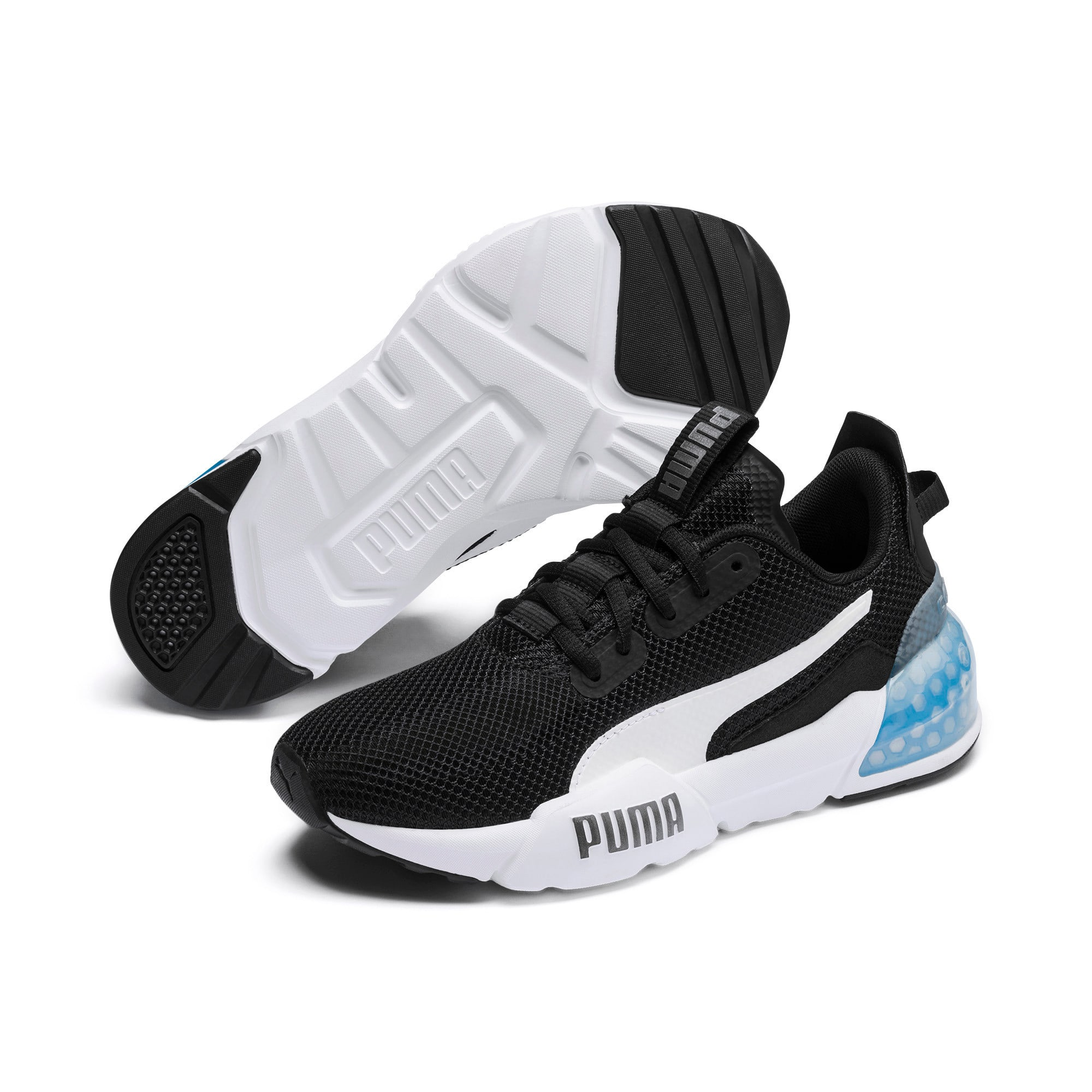 Thumbnail 3 of CELL Phase Women's Training Shoes, Puma Black-Puma Silver, medium