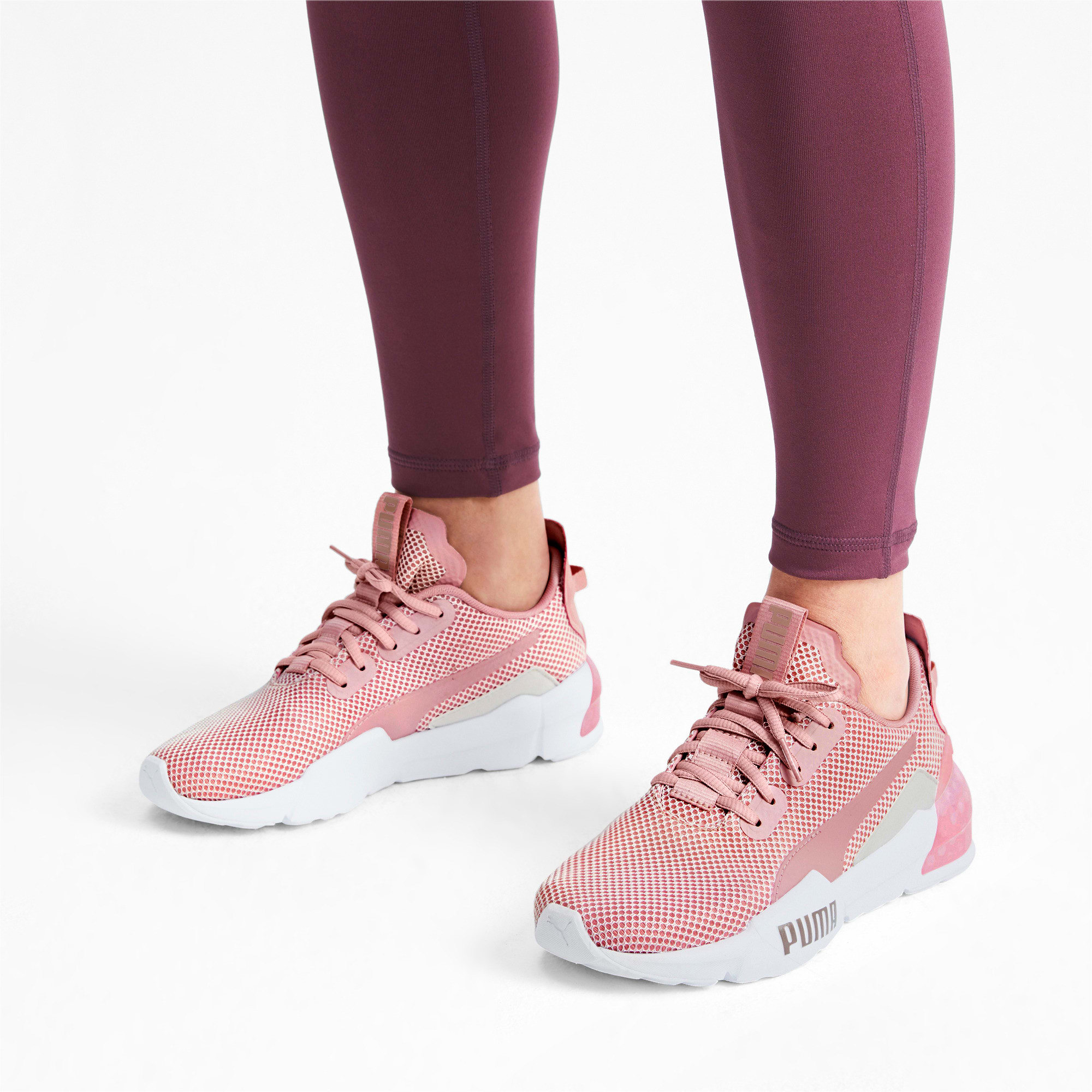 Thumbnail 2 of CELL Phase Women's Trainers, Bridal Rose-Pastel Parchment, medium-IND