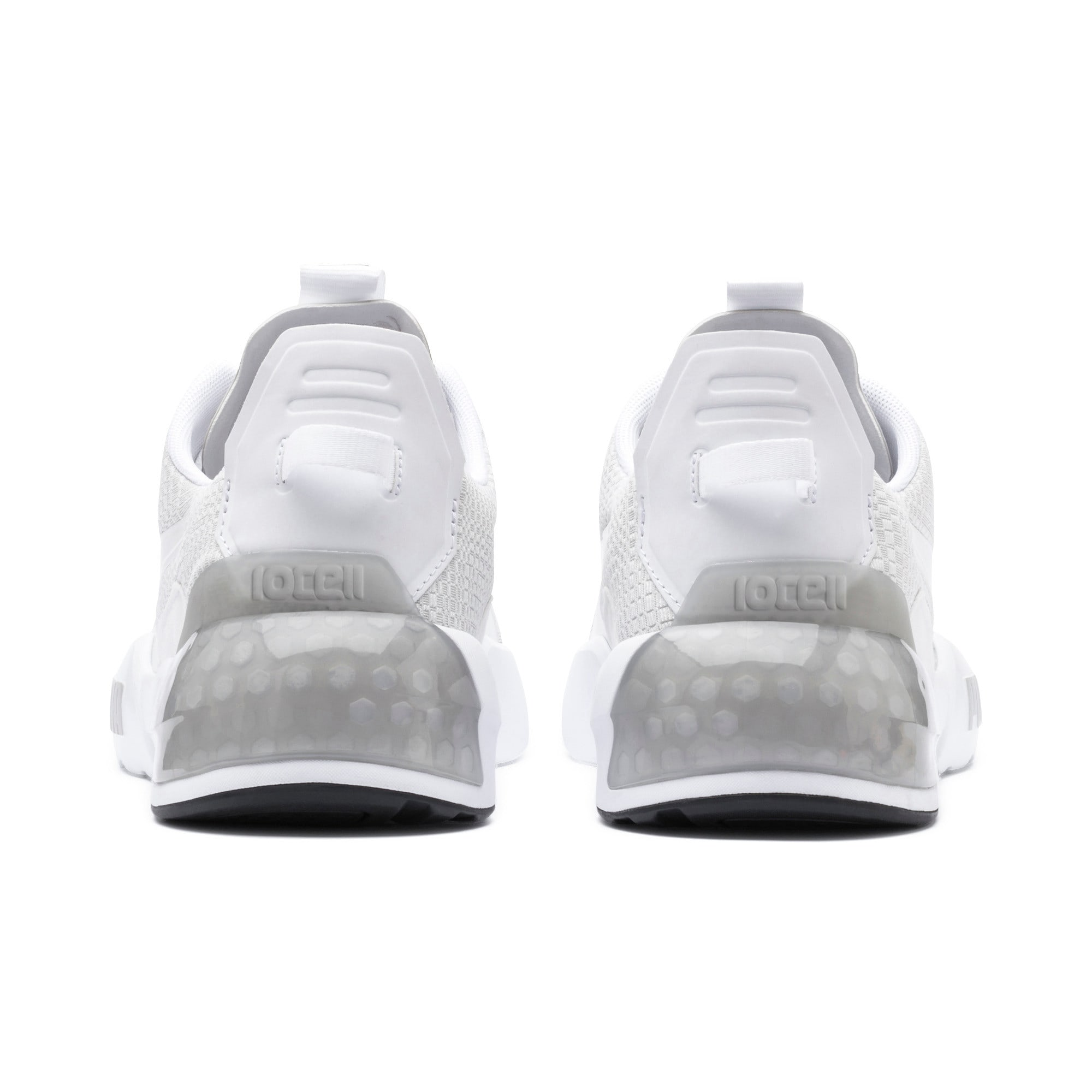 Thumbnail 4 of CELL Phase Lights Men's Running Shoes, Puma White-Gray Violet, medium