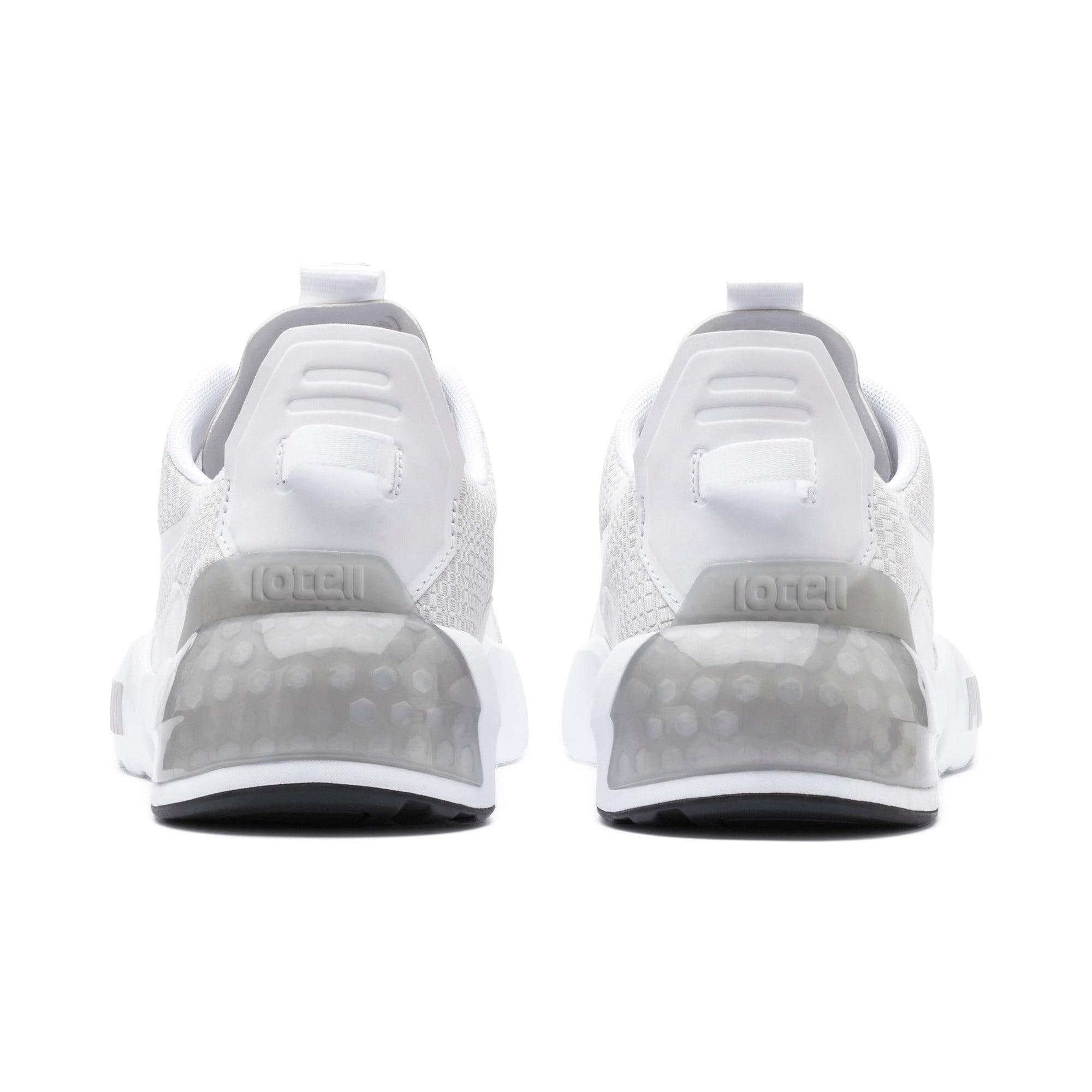 Thumbnail 4 of CELL Phase Lights Men's Training Shoes, Puma White-Gray Violet, medium