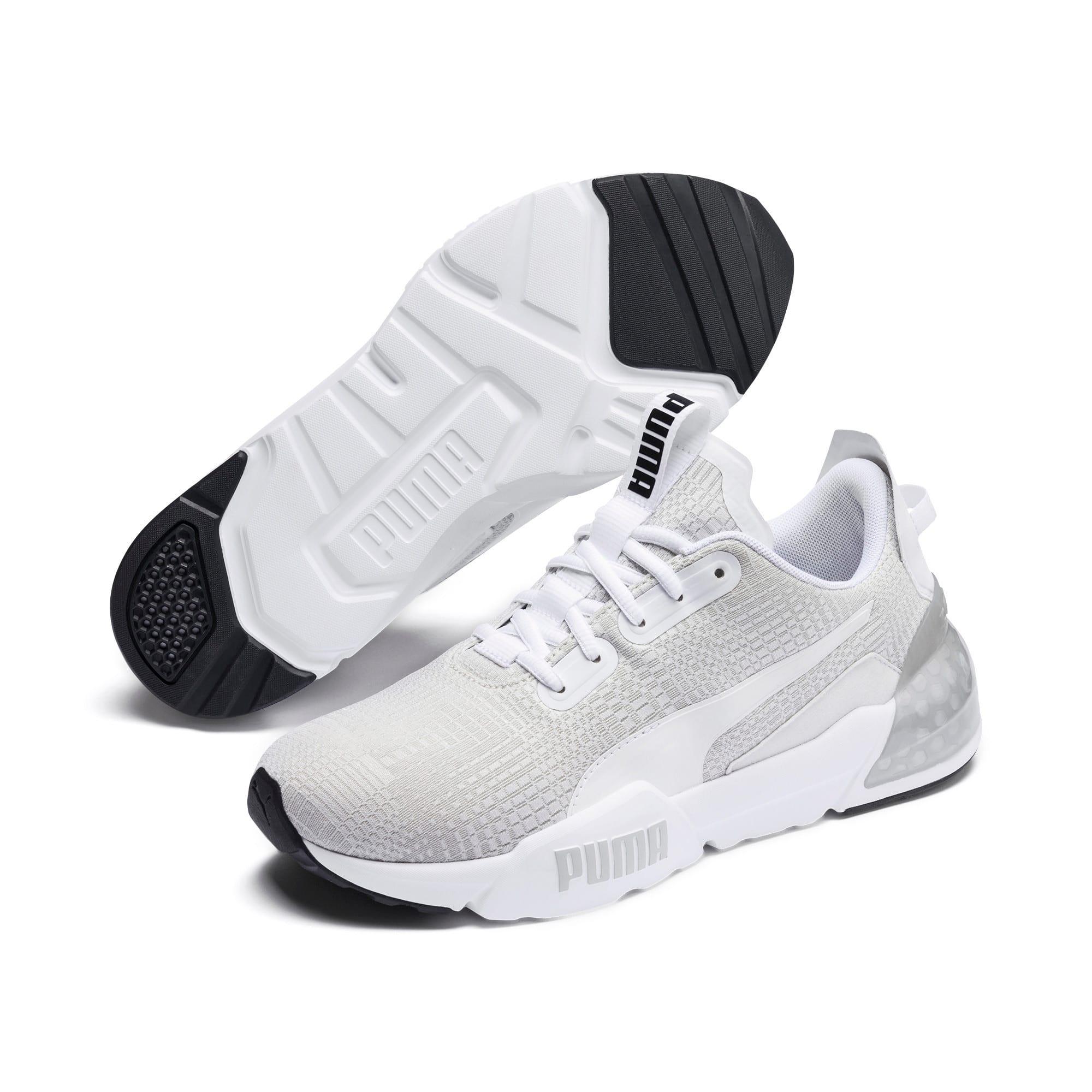Thumbnail 3 of CELL Phase Lights Men's Running Shoes, Puma White-Gray Violet, medium